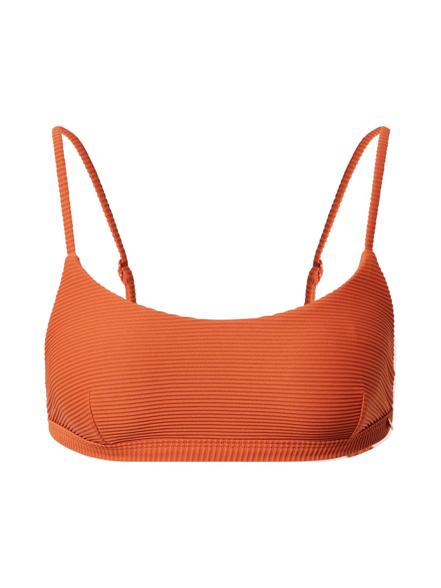 Seafolly Bikinio viršutinė dalis oranžinė