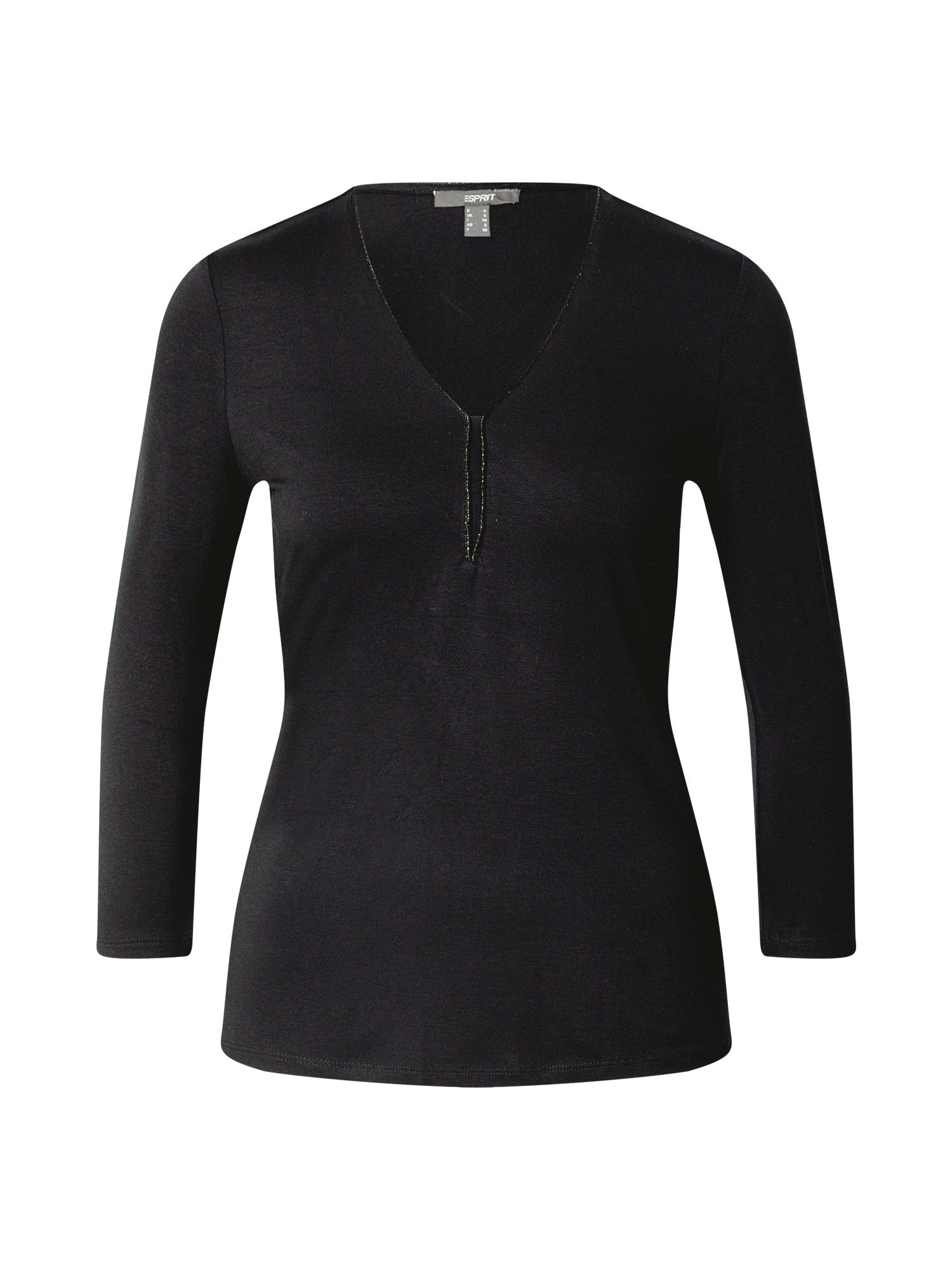 Esprit Collection Marškinėliai margai juoda
