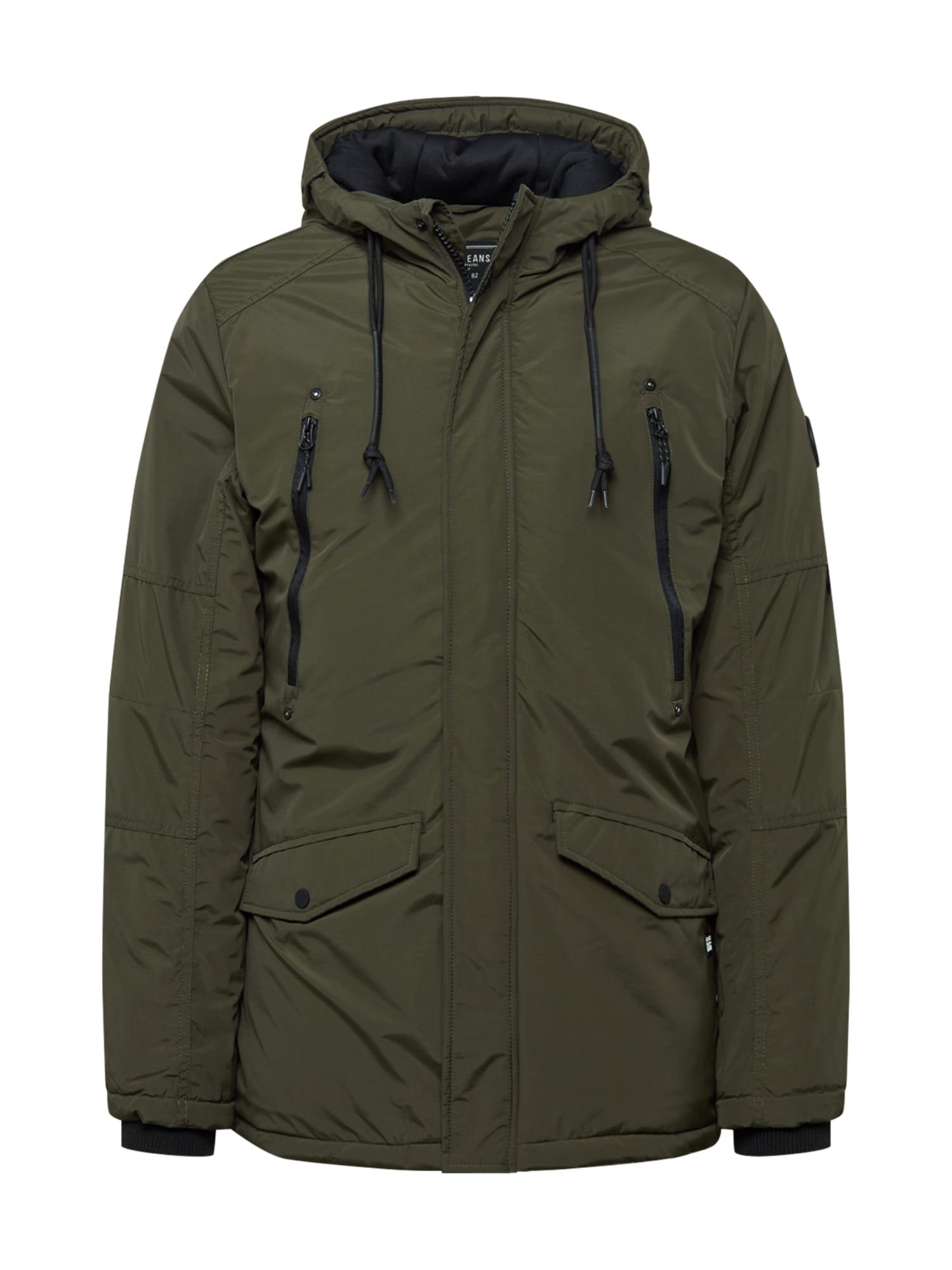 Cars Jeans Zimní bunda 'Aosta'  khaki