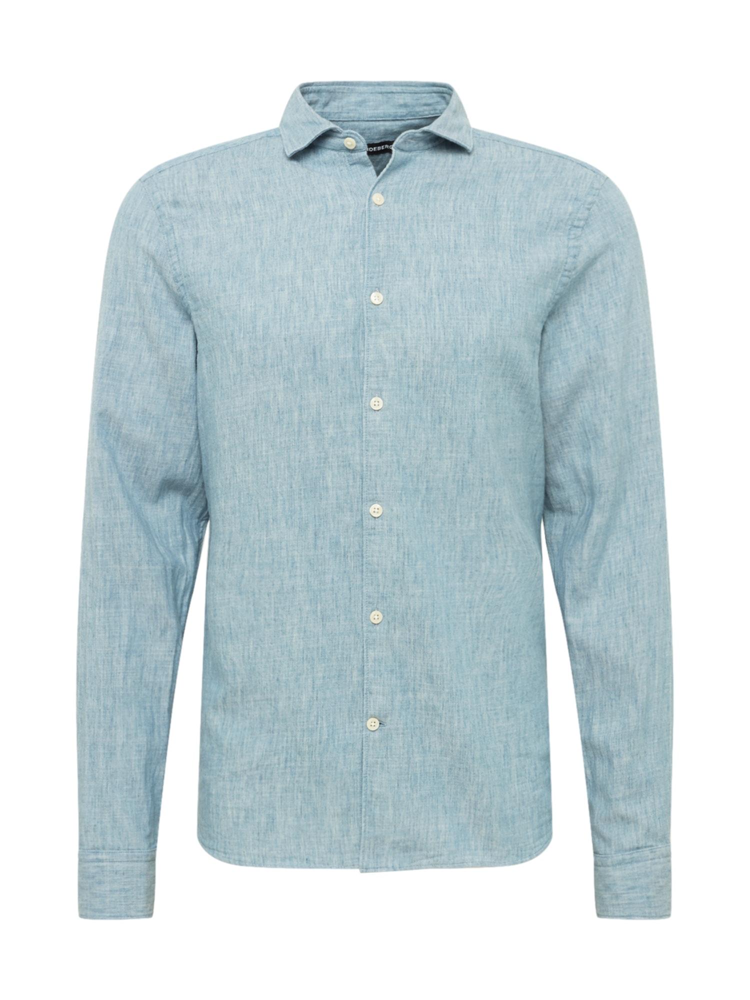 J.Lindeberg Marškiniai margai mėlyna