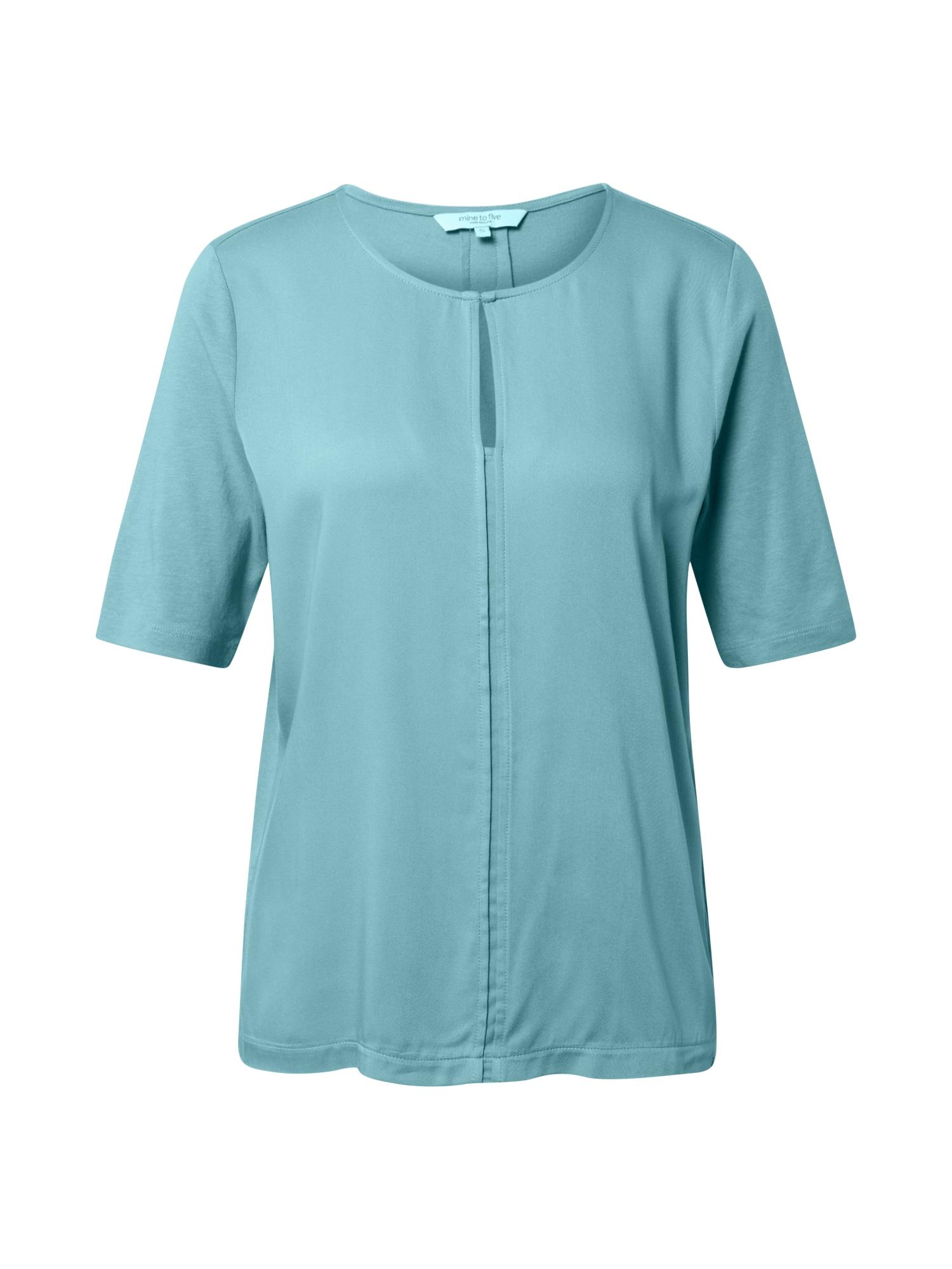 MINE TO FIVE Marškinėliai pastelinė mėlyna