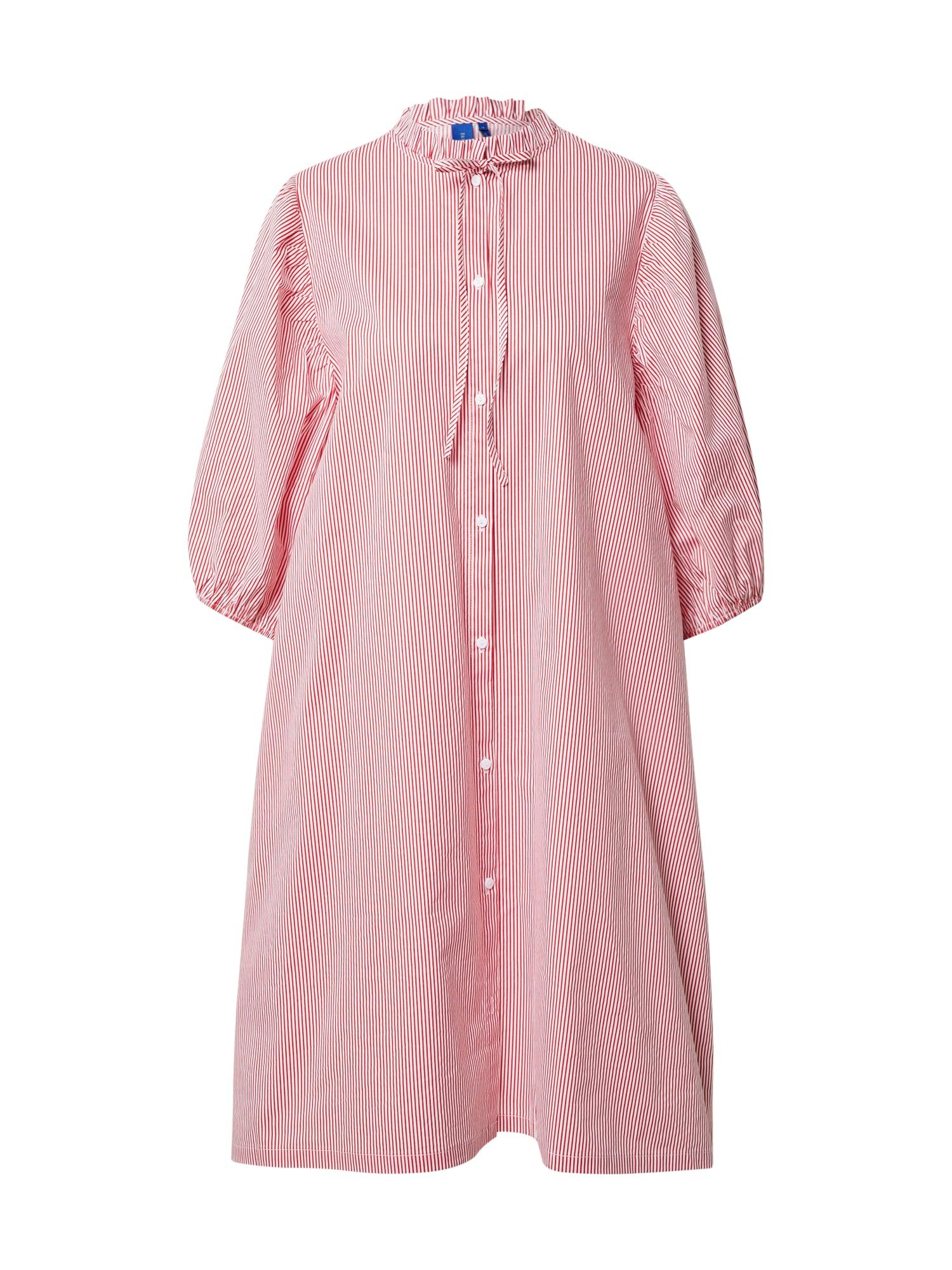 Résumé Palaidinės tipo suknelė raudona / balta