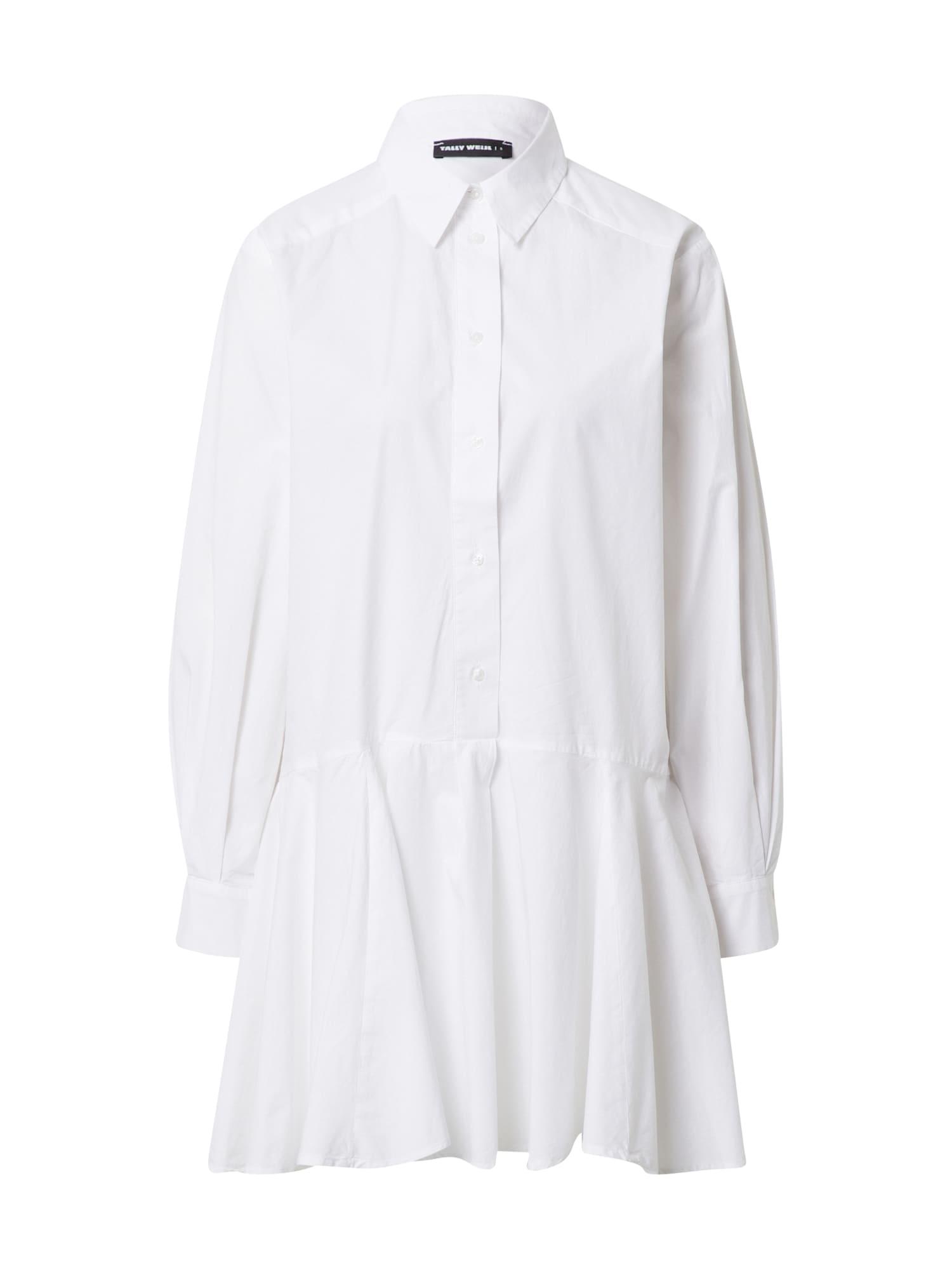 Tally Weijl Palaidinės tipo suknelė balta