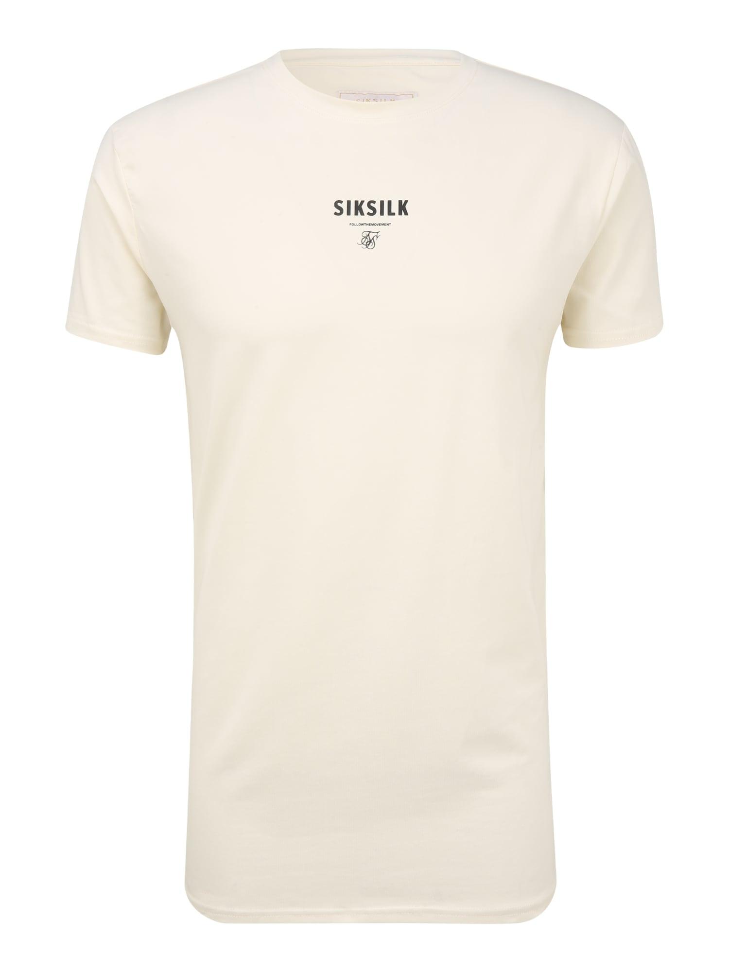 SikSilk Marškinėliai balkšva