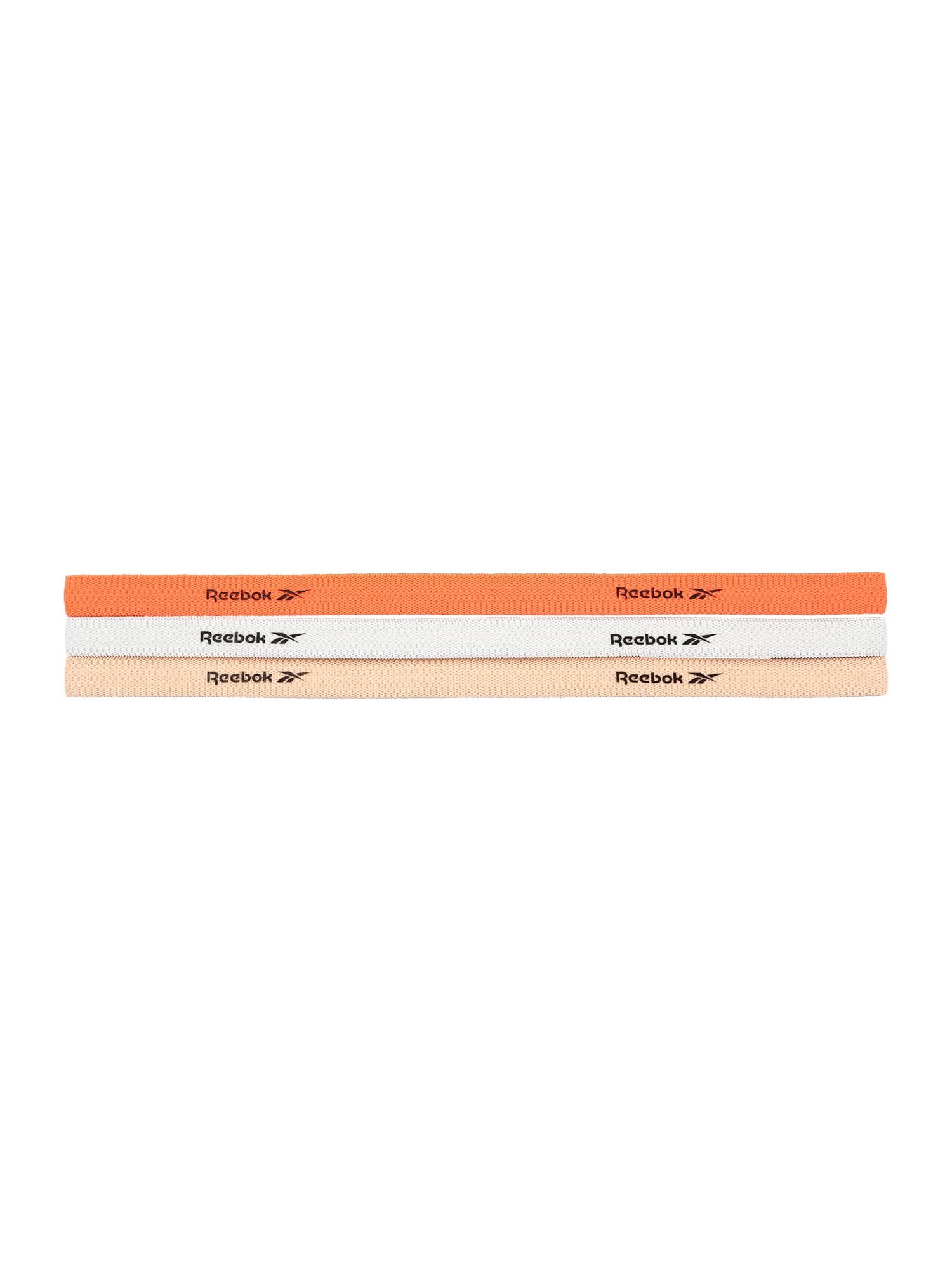 REEBOK Plaukų papuošalas oranžinė / koralų splava / balta / juoda