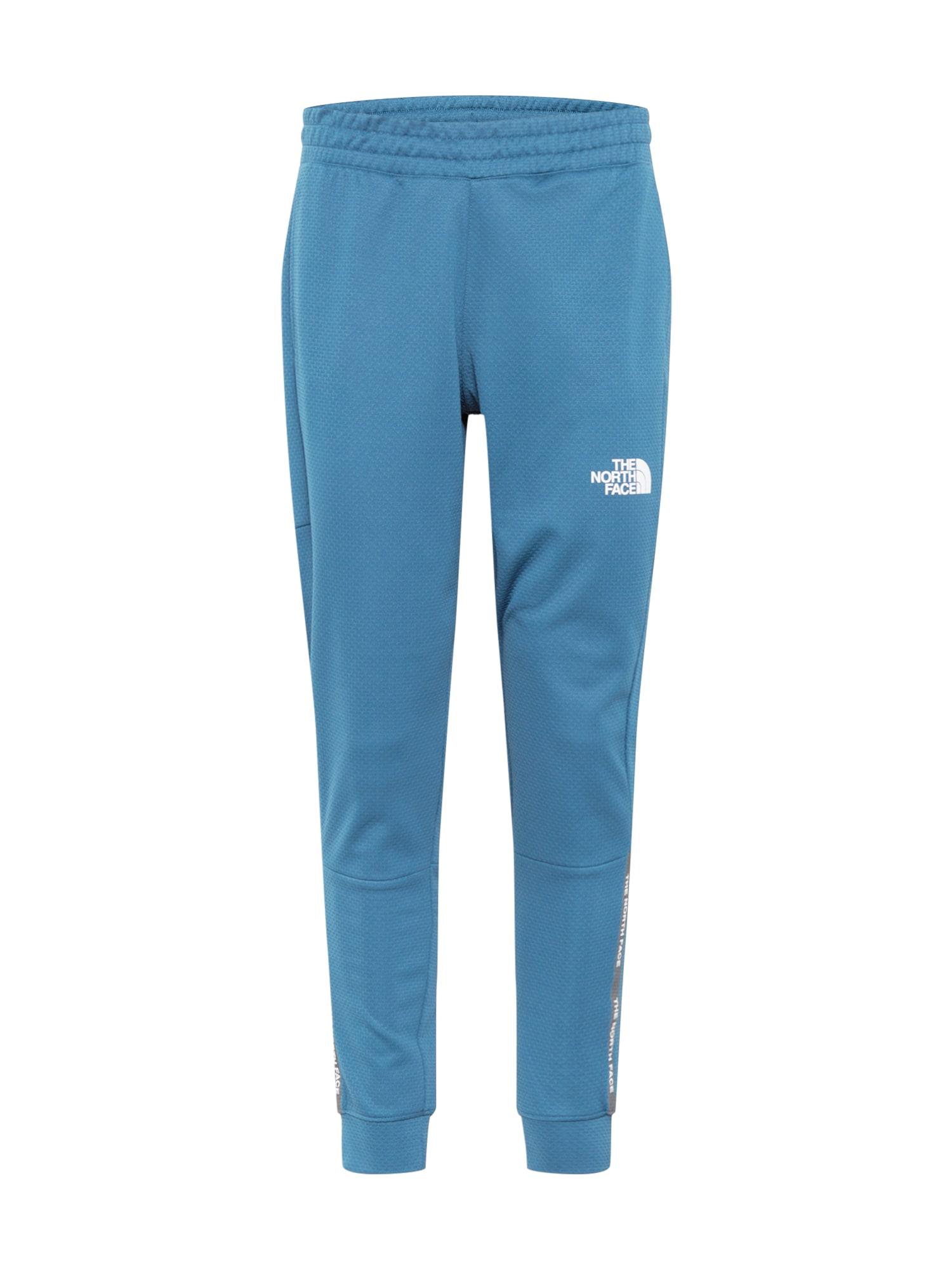 THE NORTH FACE Outdoorové kalhoty  nebeská modř / bílá