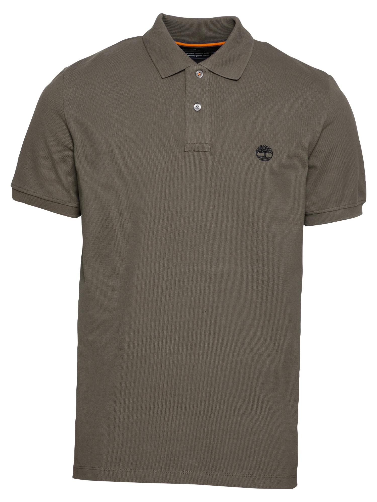TIMBERLAND Marškinėliai alyvuogių spalva