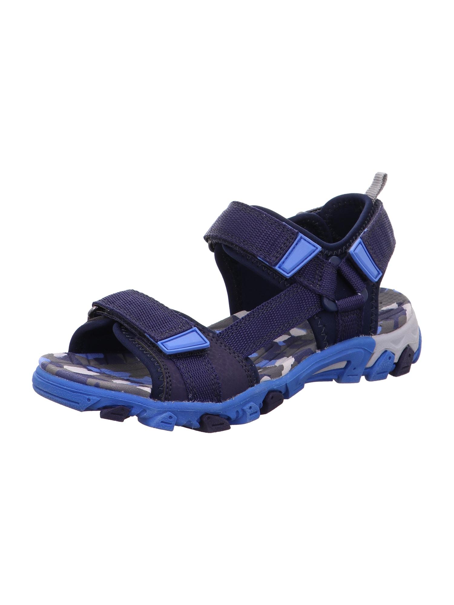 SUPERFIT Atviri batai mėlyna / tamsiai mėlyna