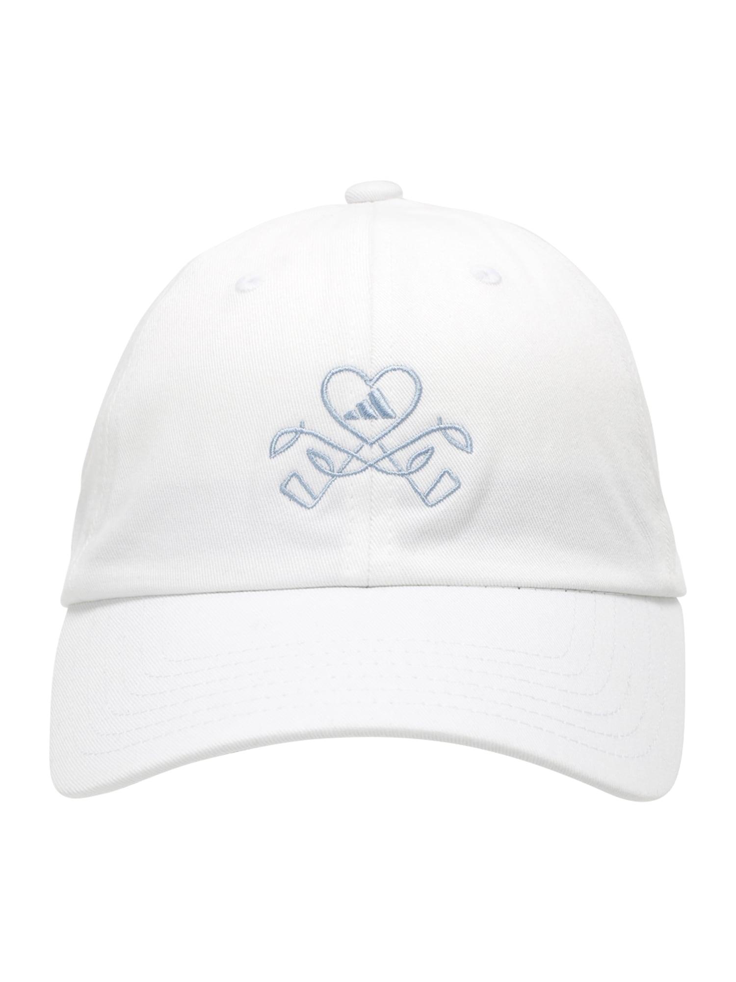 adidas Golf Sportinė kepurė balta / mėlyna