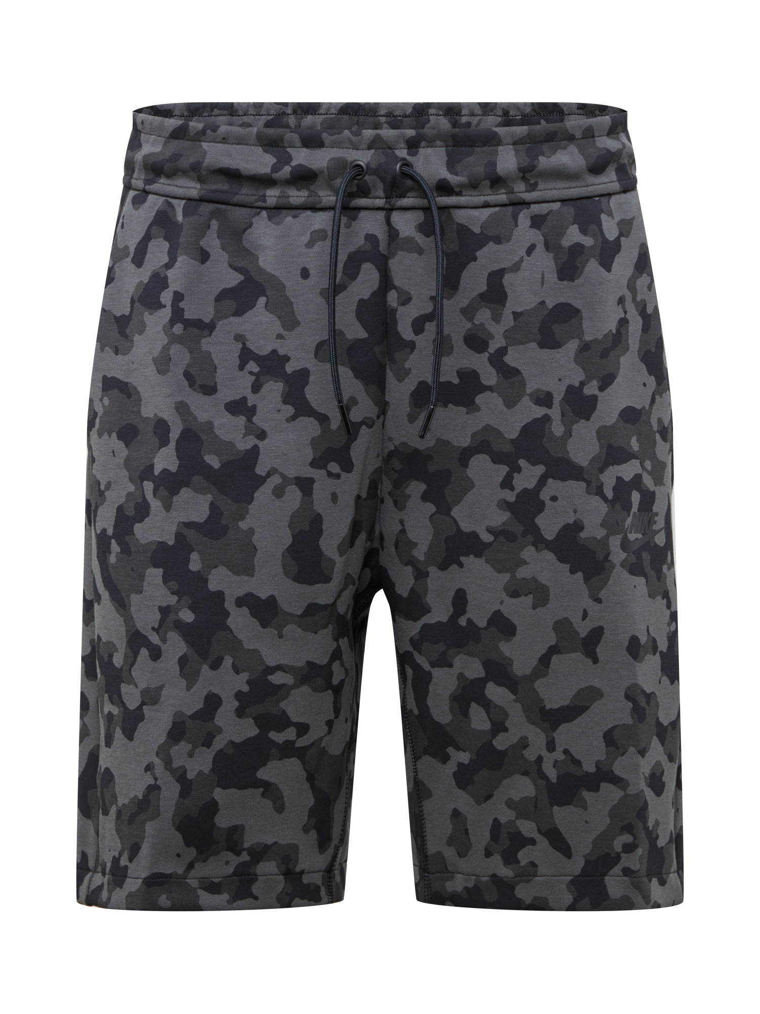 Nike Sportswear Kelnės pilka / juoda / tamsiai pilka