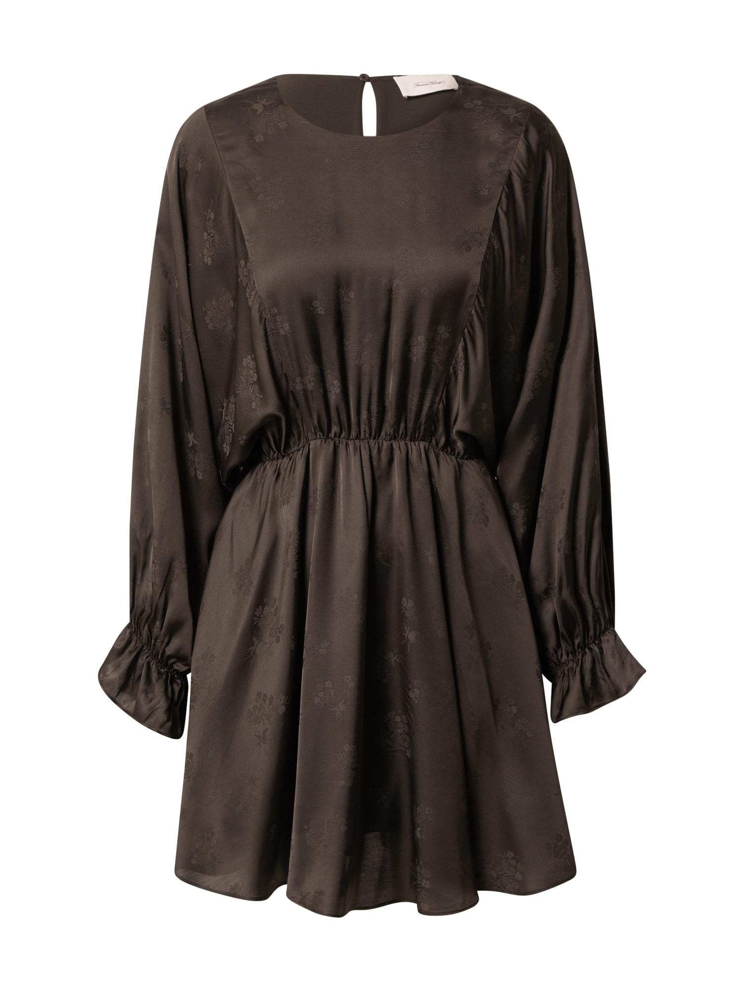AMERICAN VINTAGE Suknelė tamsiai ruda