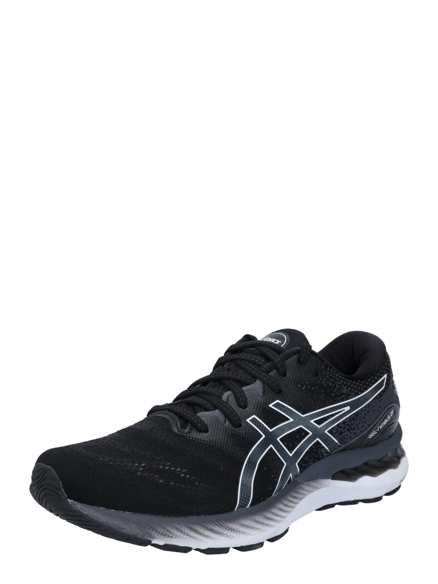 ASICS Běžecká obuv 'GEL-NIMBUS 23'  černá / bílá