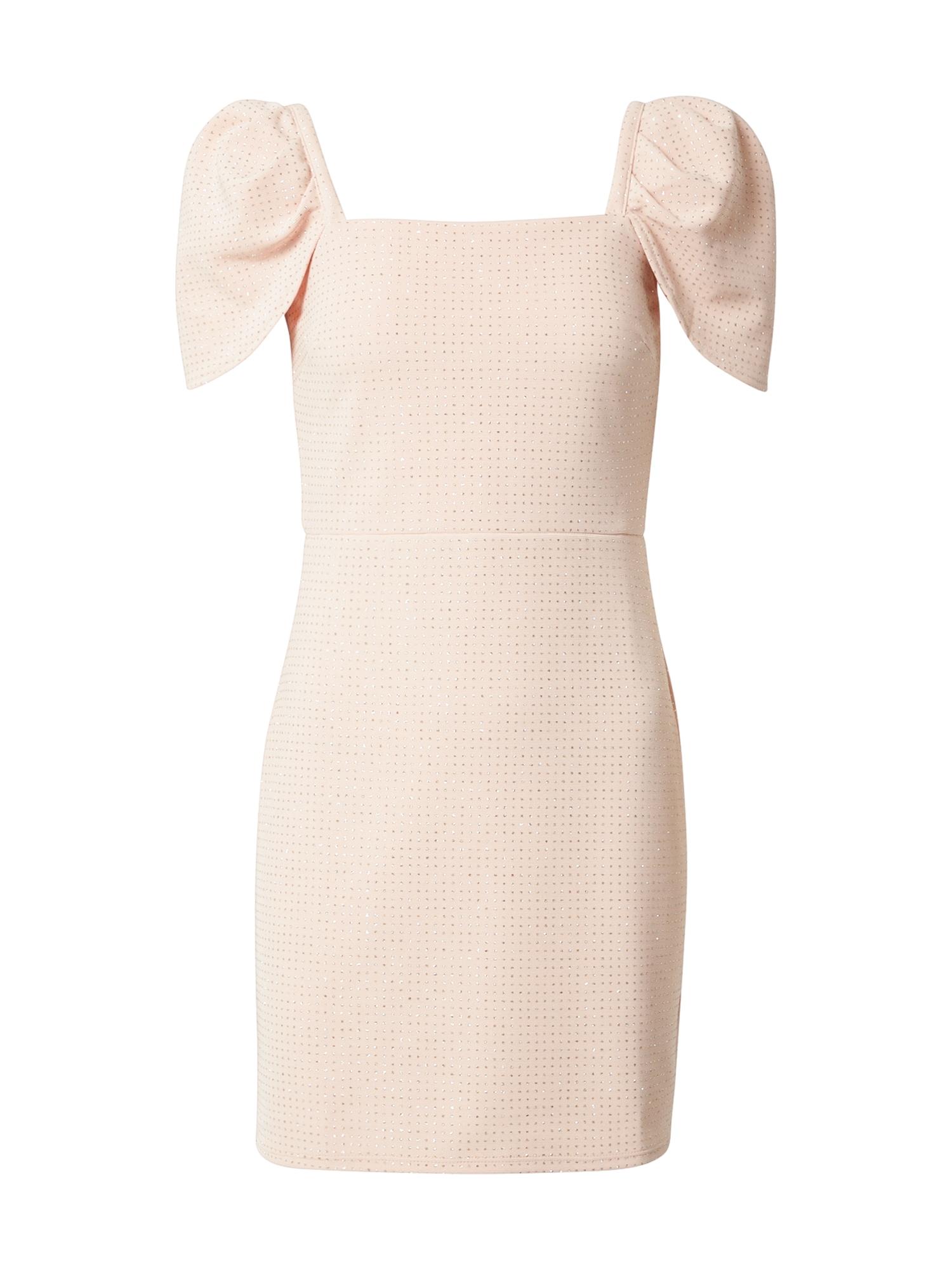 Miss Selfridge Kokteilinė suknelė rožinė / sidabrinė