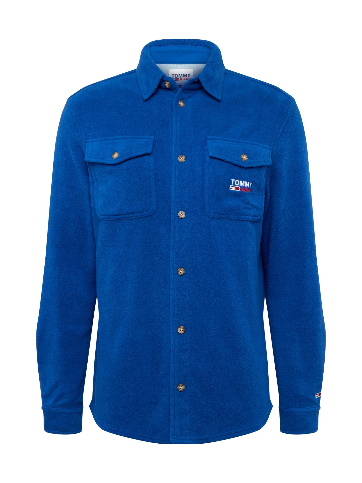 Tommy Jeans Dalykiniai marškiniai mėlyna