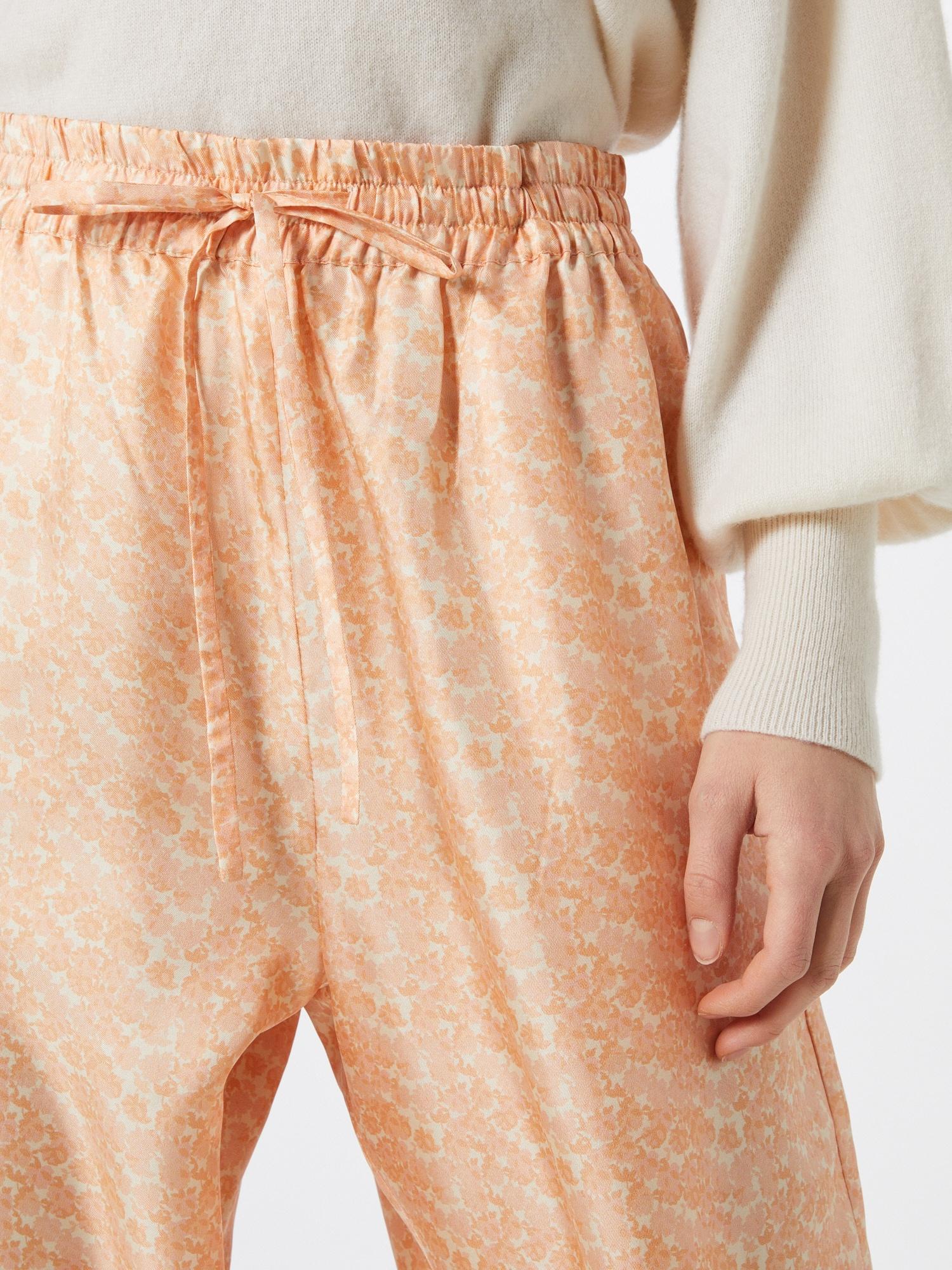 NUÉ NOTES Nohavice 'CAROLA'  béžová / ružová / pastelovo oranžová.