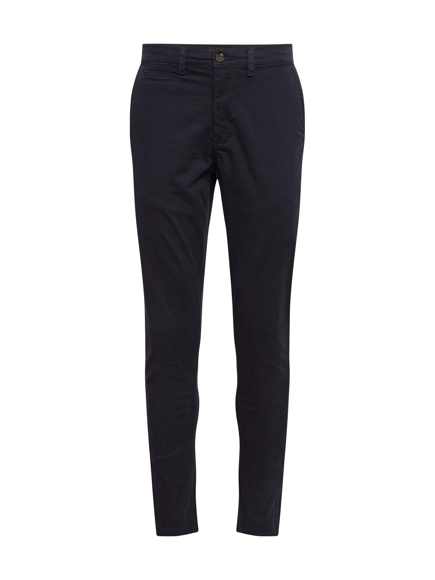 NEW LOOK Chino kalhoty  námořnická modř