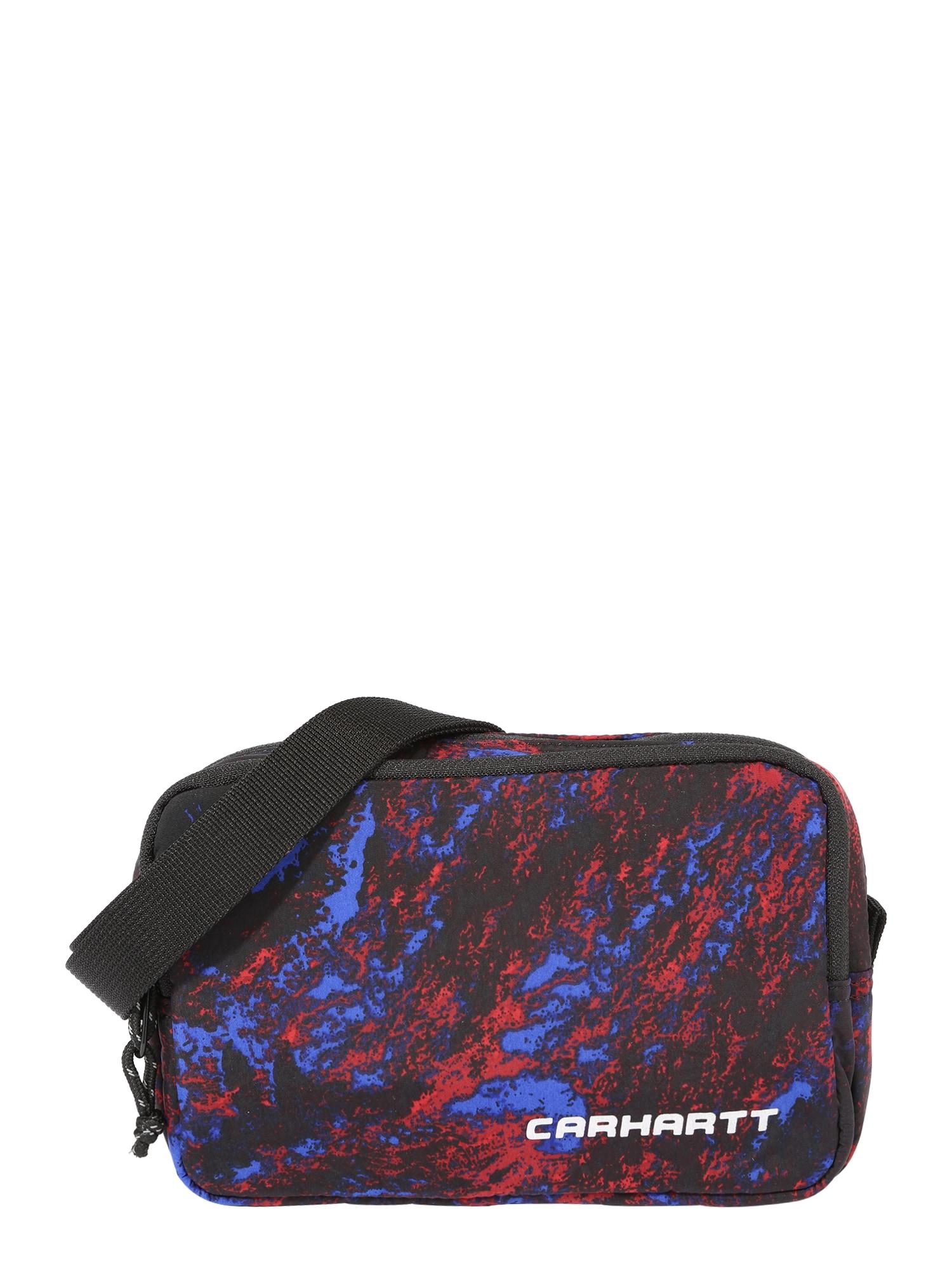 Carhartt WIP Rankinė su ilgu dirželiu 'Terra' juoda / mėlyna / raudona