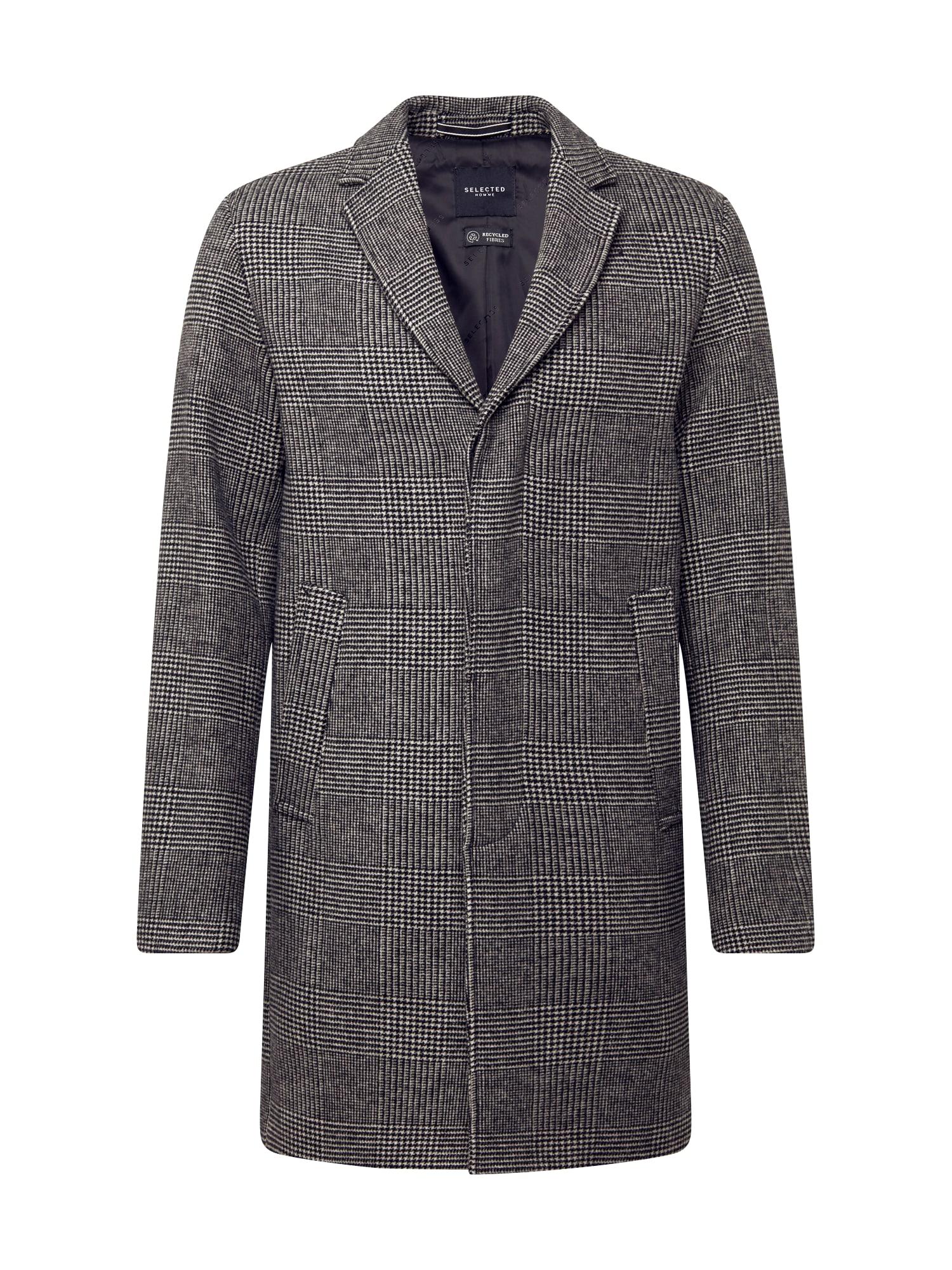 SELECTED HOMME Rudeninis-žieminis paltas 'HAGEN' pilka / antracito
