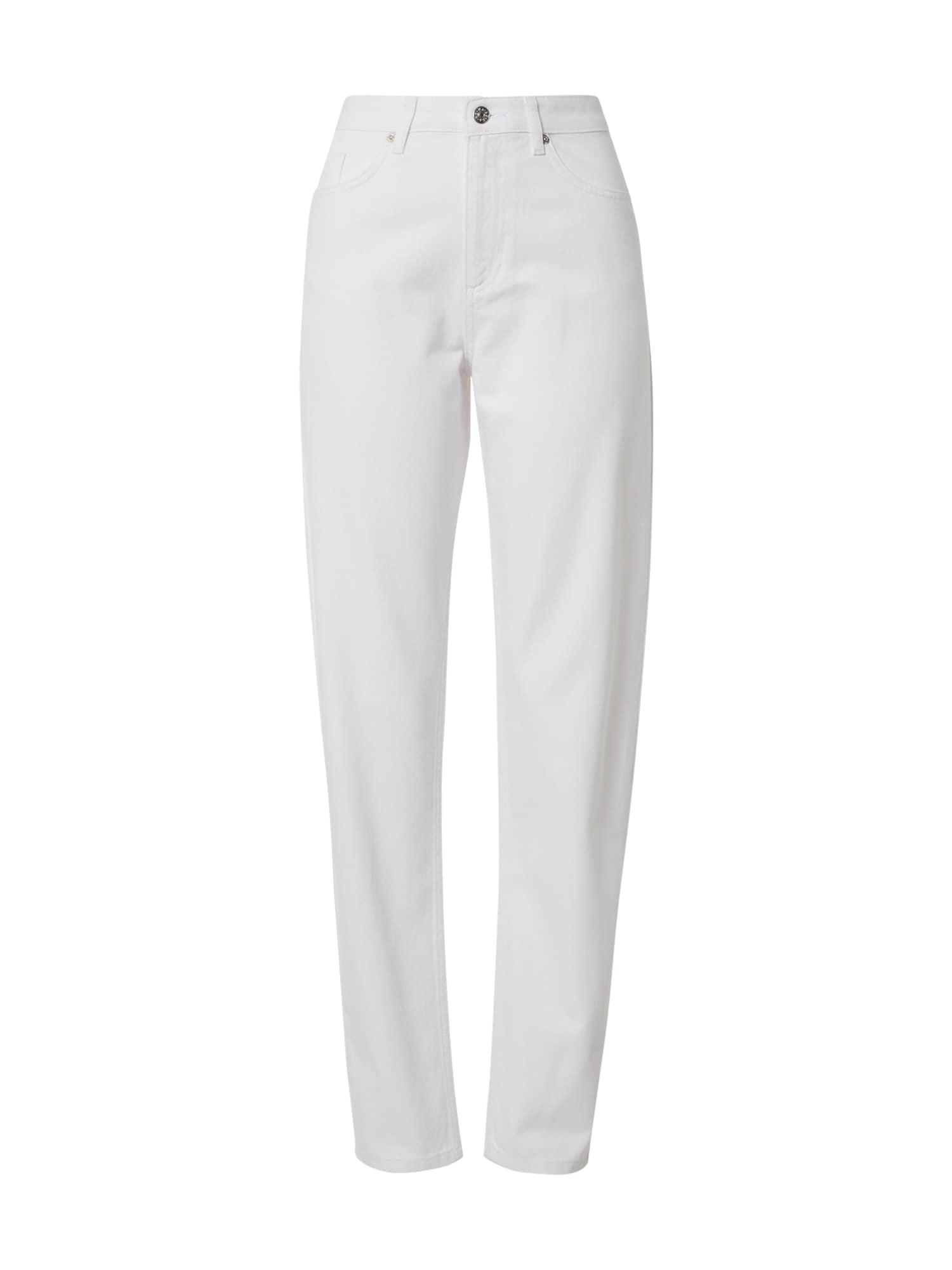 NA-KD Džinsai balto džinso spalva