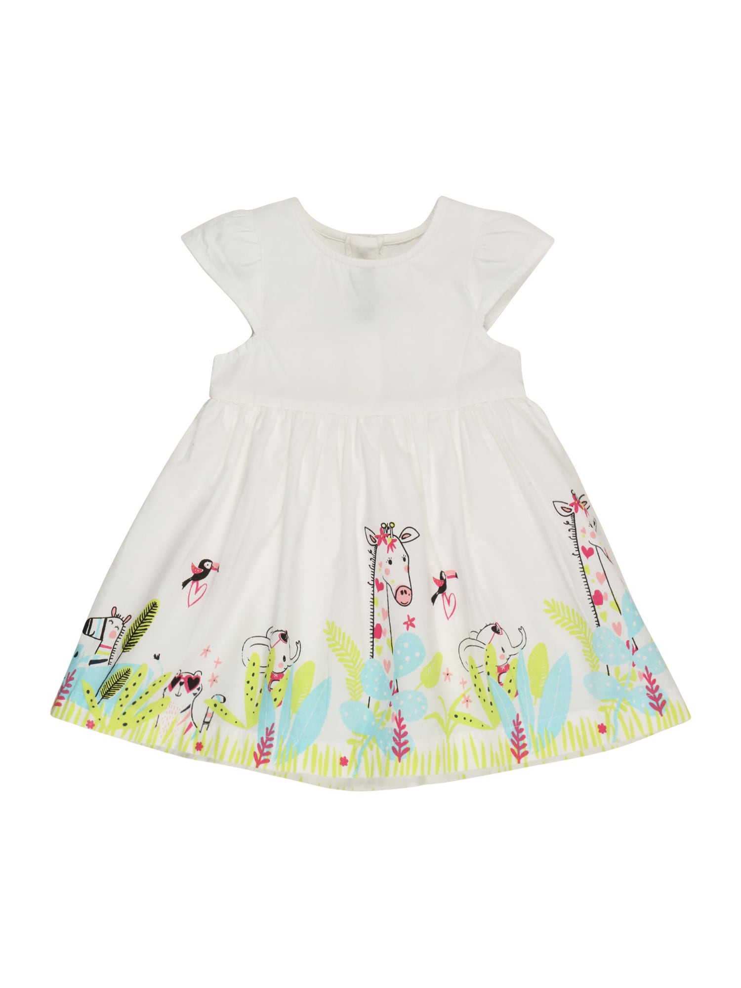BLUE SEVEN Suknelė balta / mišrios spalvos