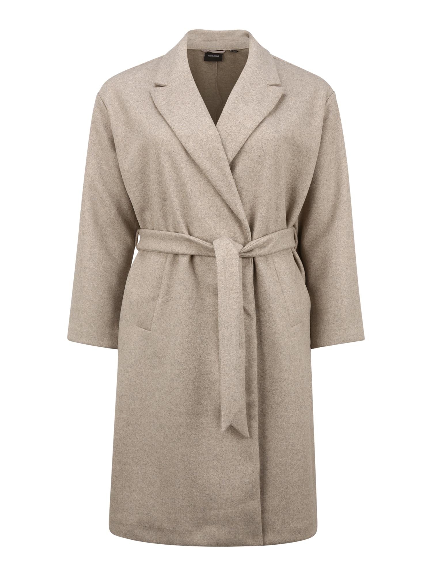 Vero Moda Curve Přechodný kabát 'Fortune'  stříbrná
