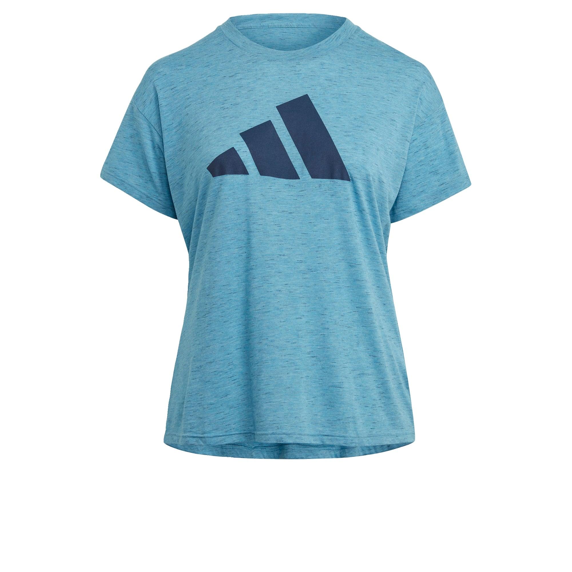 ADIDAS PERFORMANCE Sportiniai marškinėliai dangaus žydra / nakties mėlyna