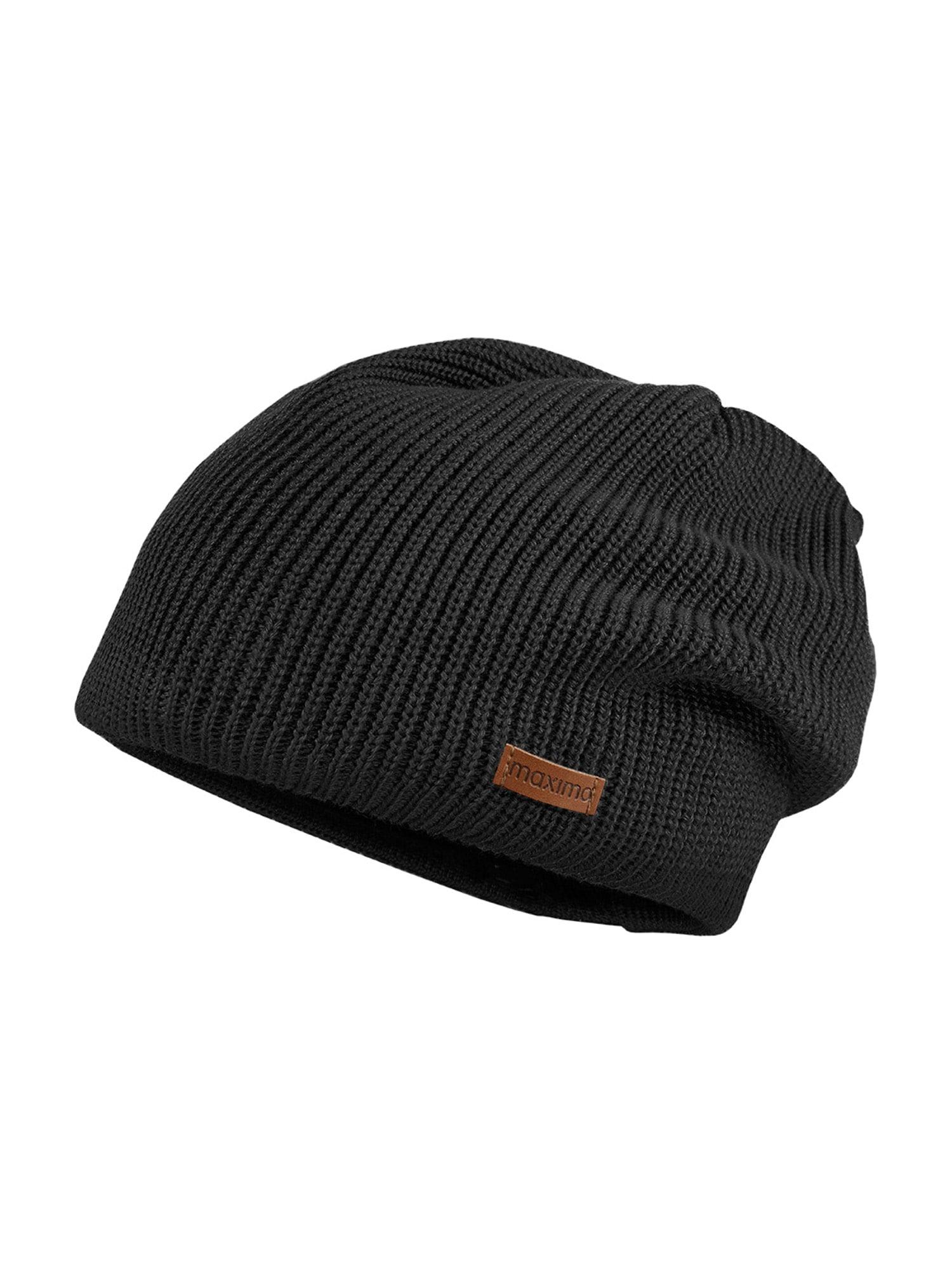 MAXIMO Megzta kepurė juoda
