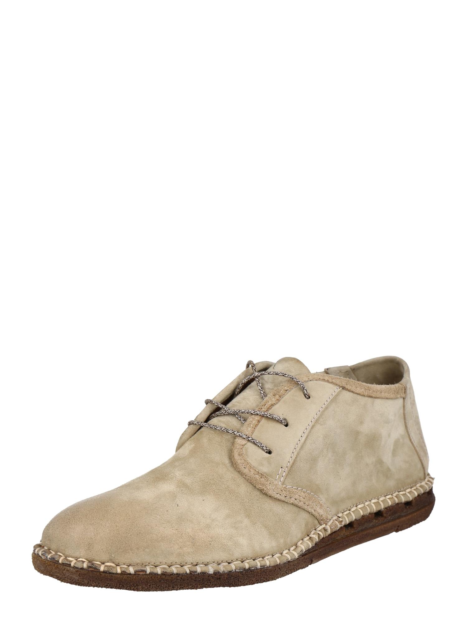 A.S.98 Šněrovací boty 'Bastard'  béžová