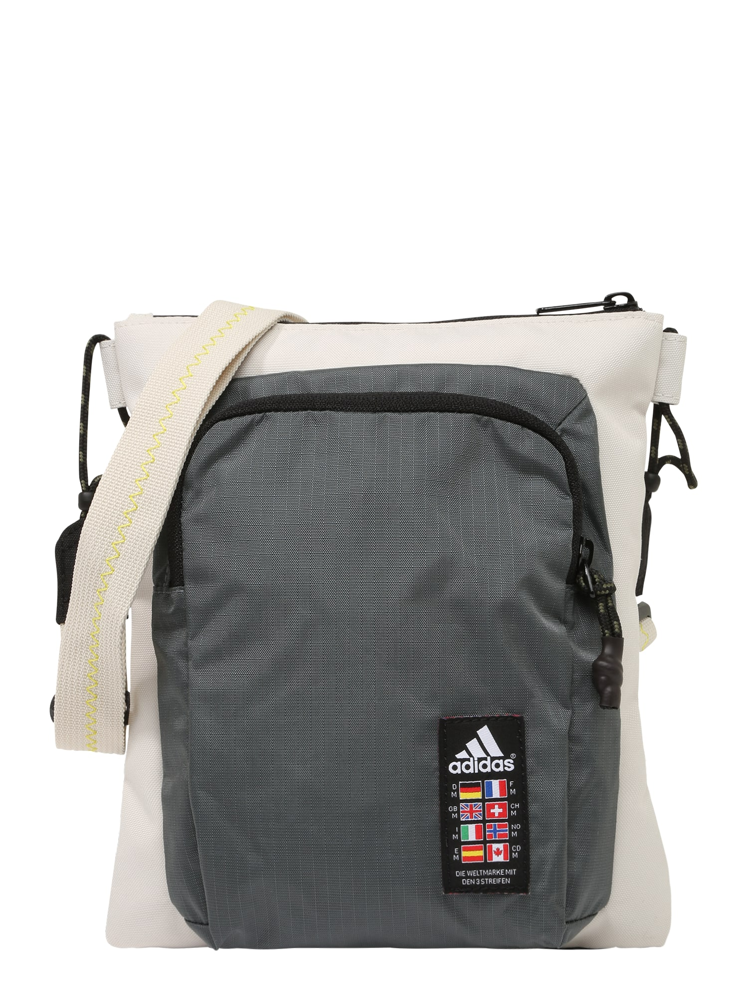 ADIDAS PERFORMANCE Sportinis krepšys smėlio / tamsiai pilka