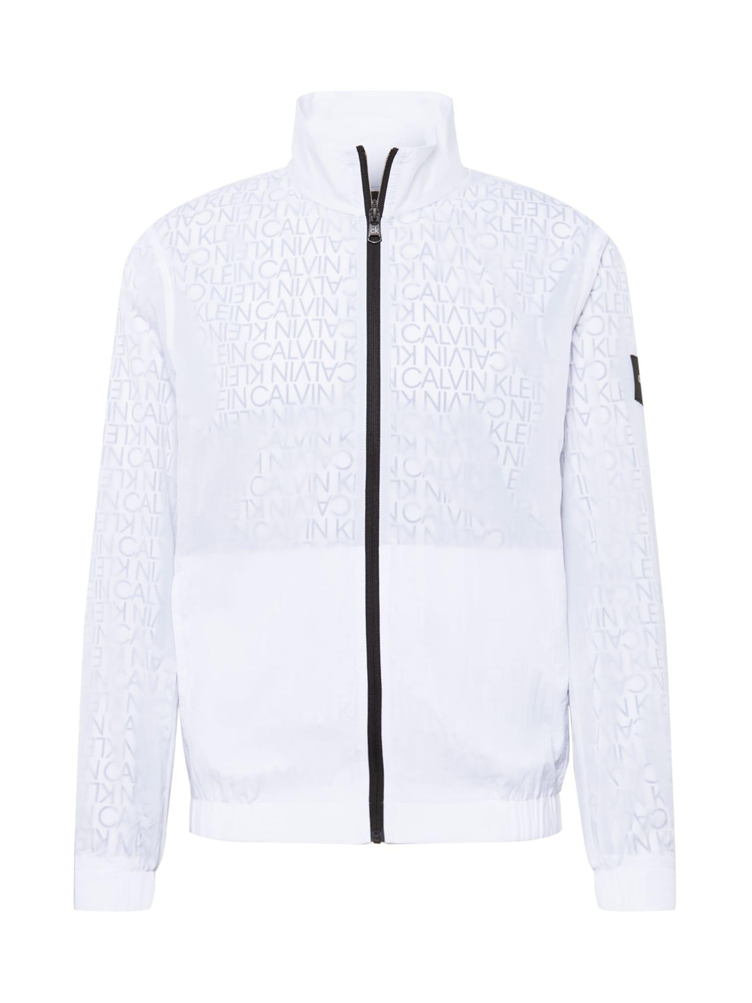 Calvin Klein Demisezoninė striukė balta