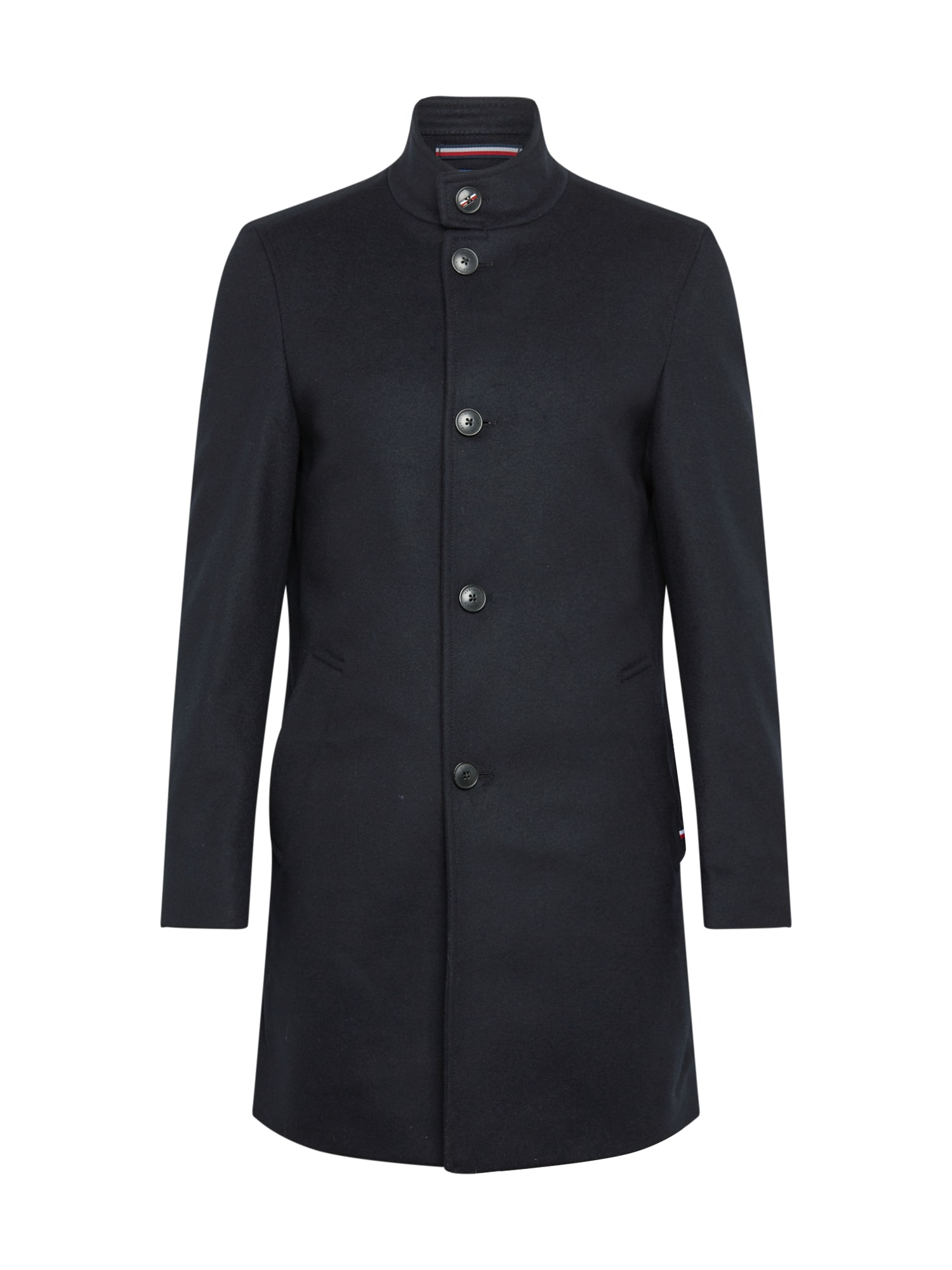 Tommy Hilfiger Tailored Demisezoninis paltas nakties mėlyna