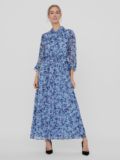 Vero Moda Dicte Maxi-Hemdkleid mit Blumenmotiv