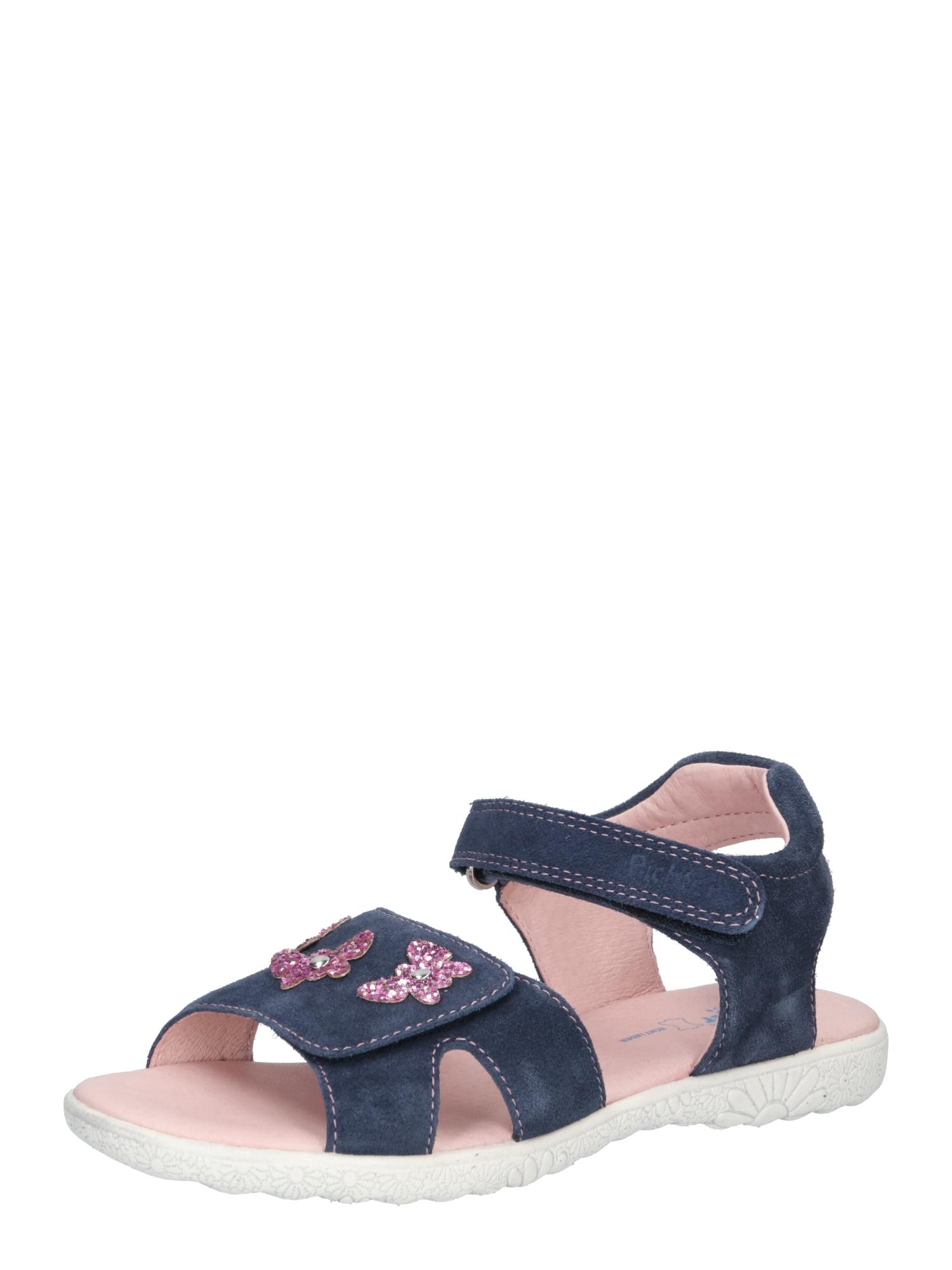 RICHTER Sandalai tamsiai mėlyna / rožinė