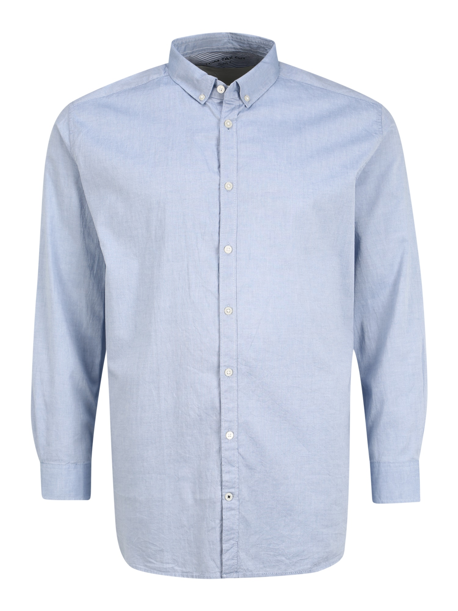 TOM TAILOR Dalykinio stiliaus marškiniai šviesiai mėlyna
