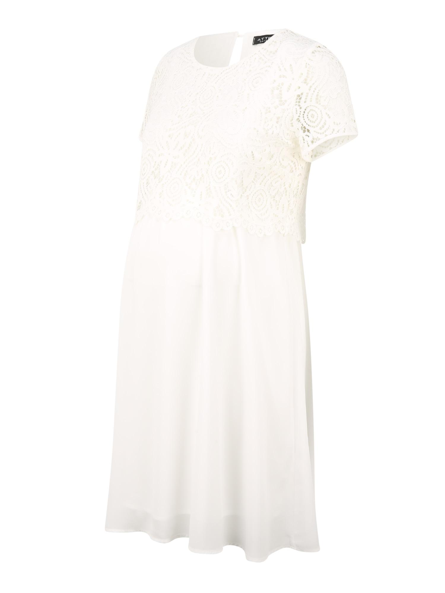 Attesa Kokteilinė suknelė natūrali balta