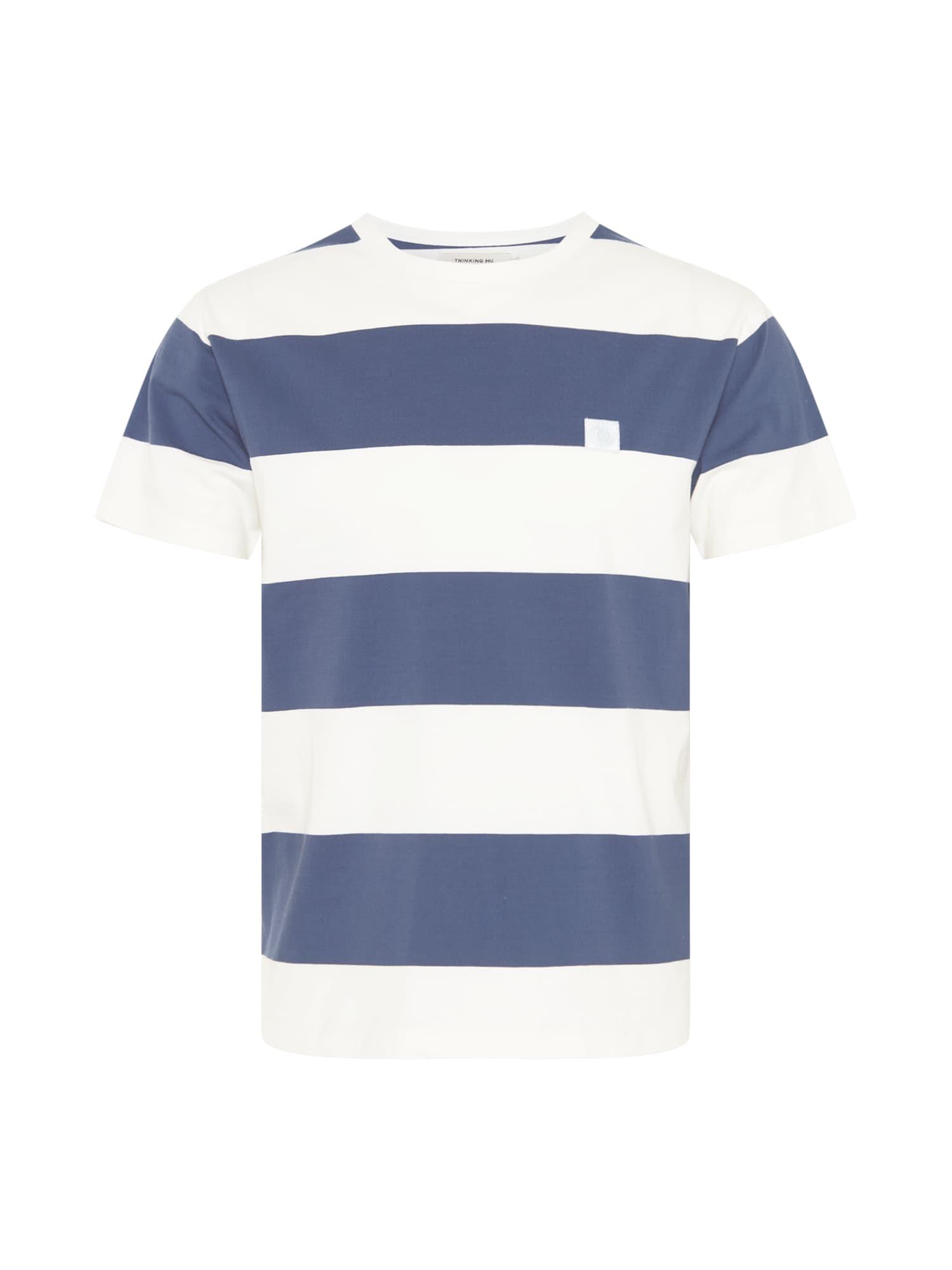 Thinking MU Marškinėliai tamsiai mėlyna / balta