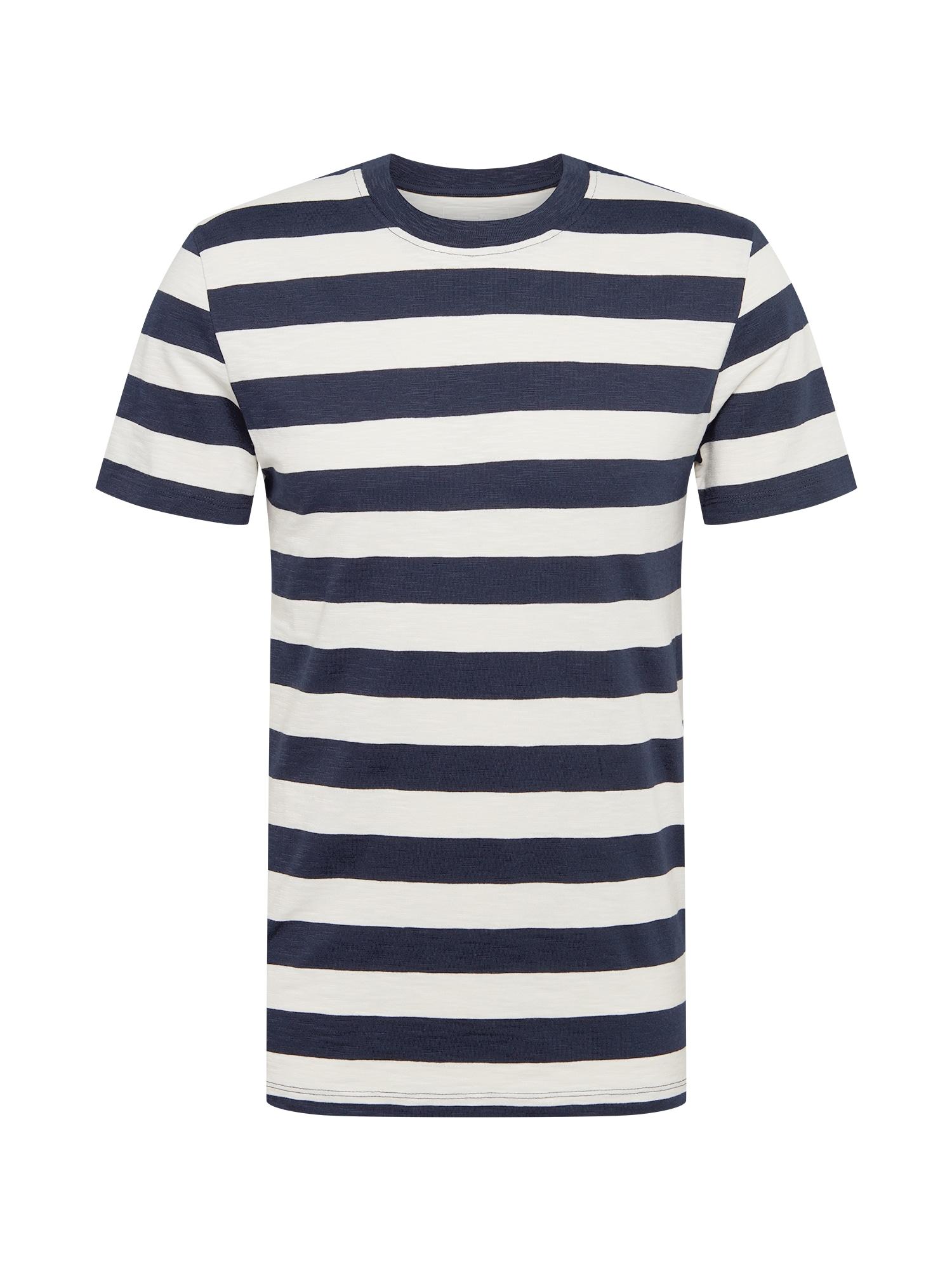 TOM TAILOR DENIM Tričko  modrá