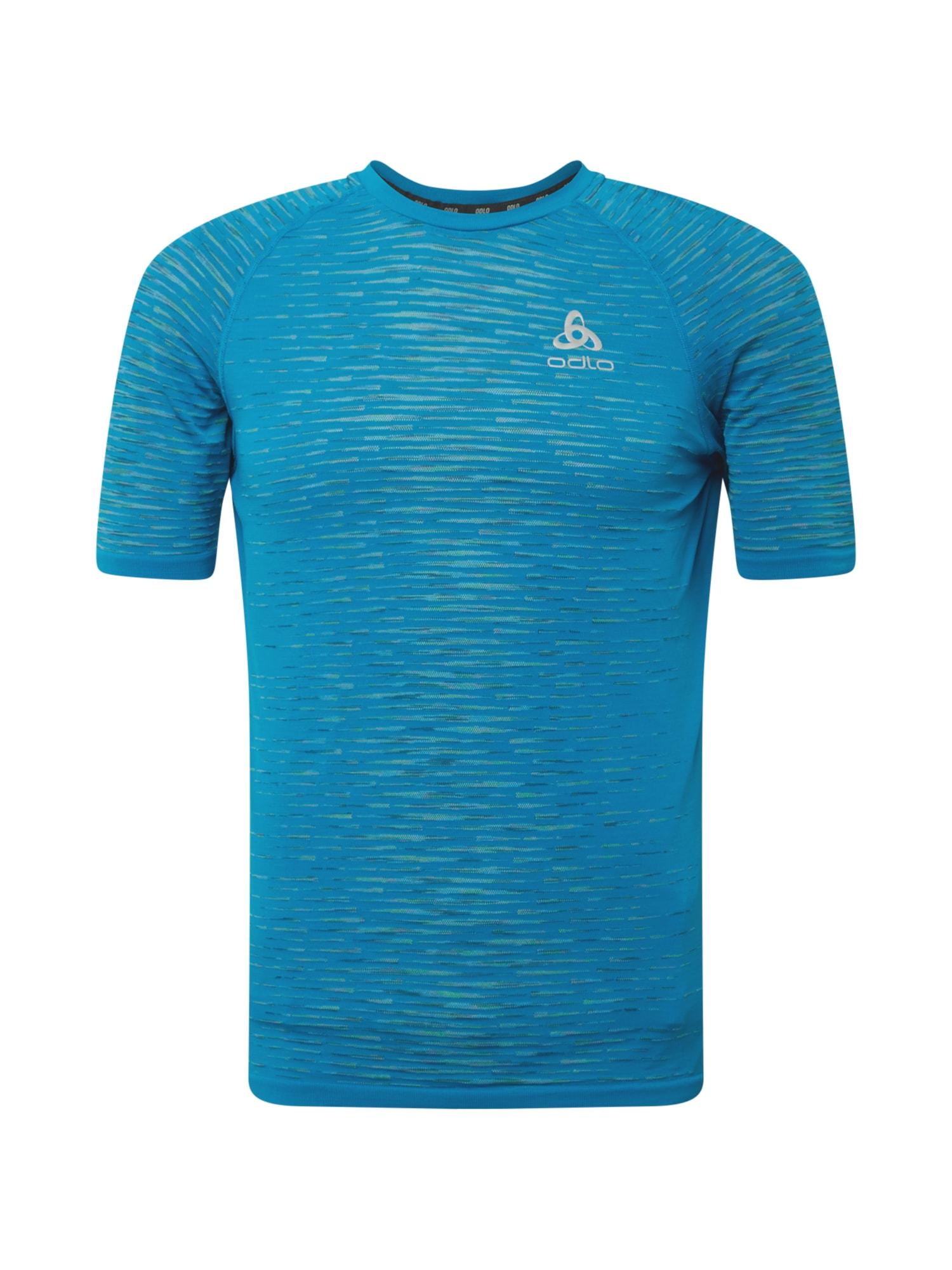 ODLO Sportiniai marškinėliai mėlyna