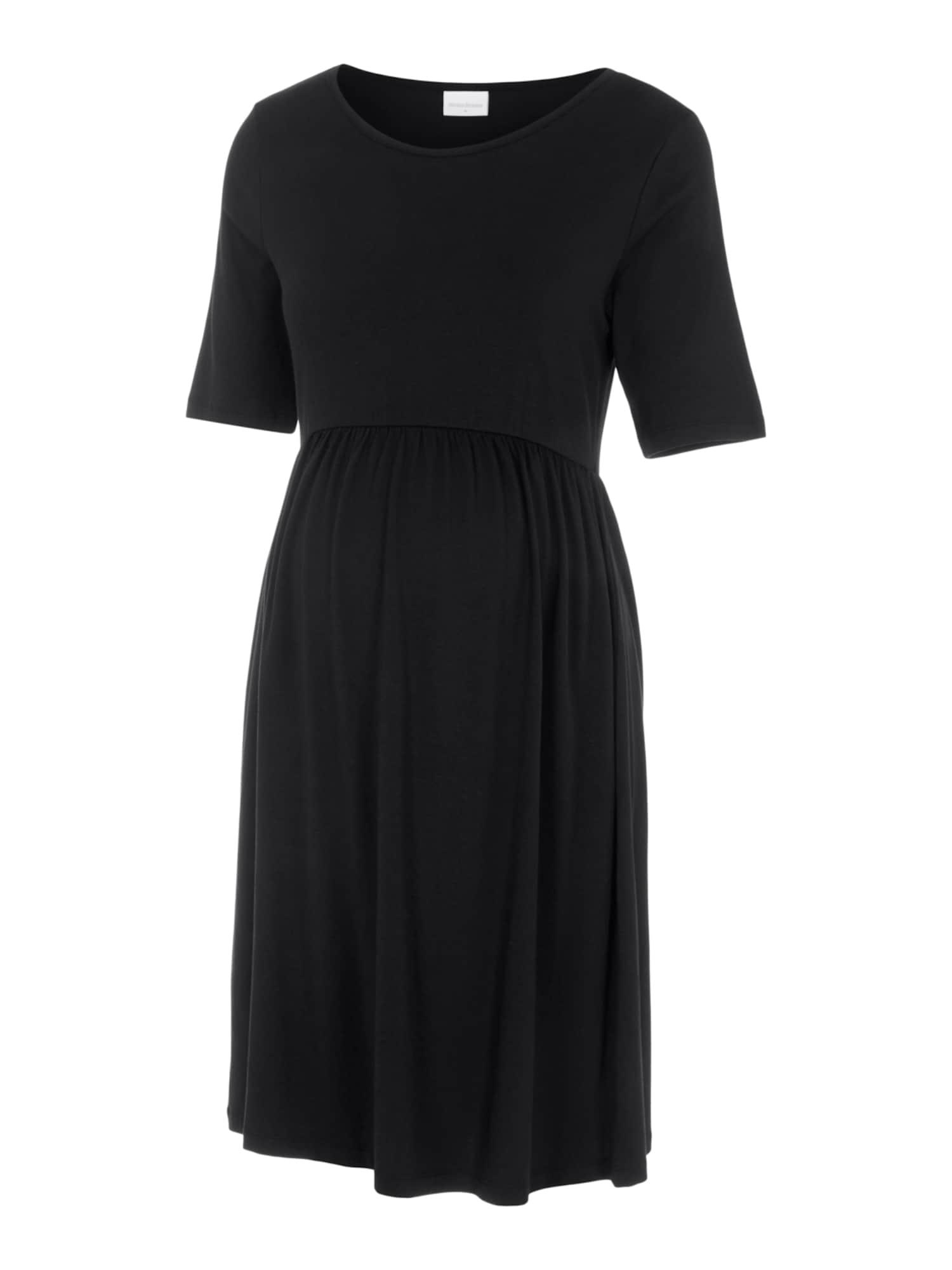 MAMALICIOUS Suknelė 'Elnora' juoda