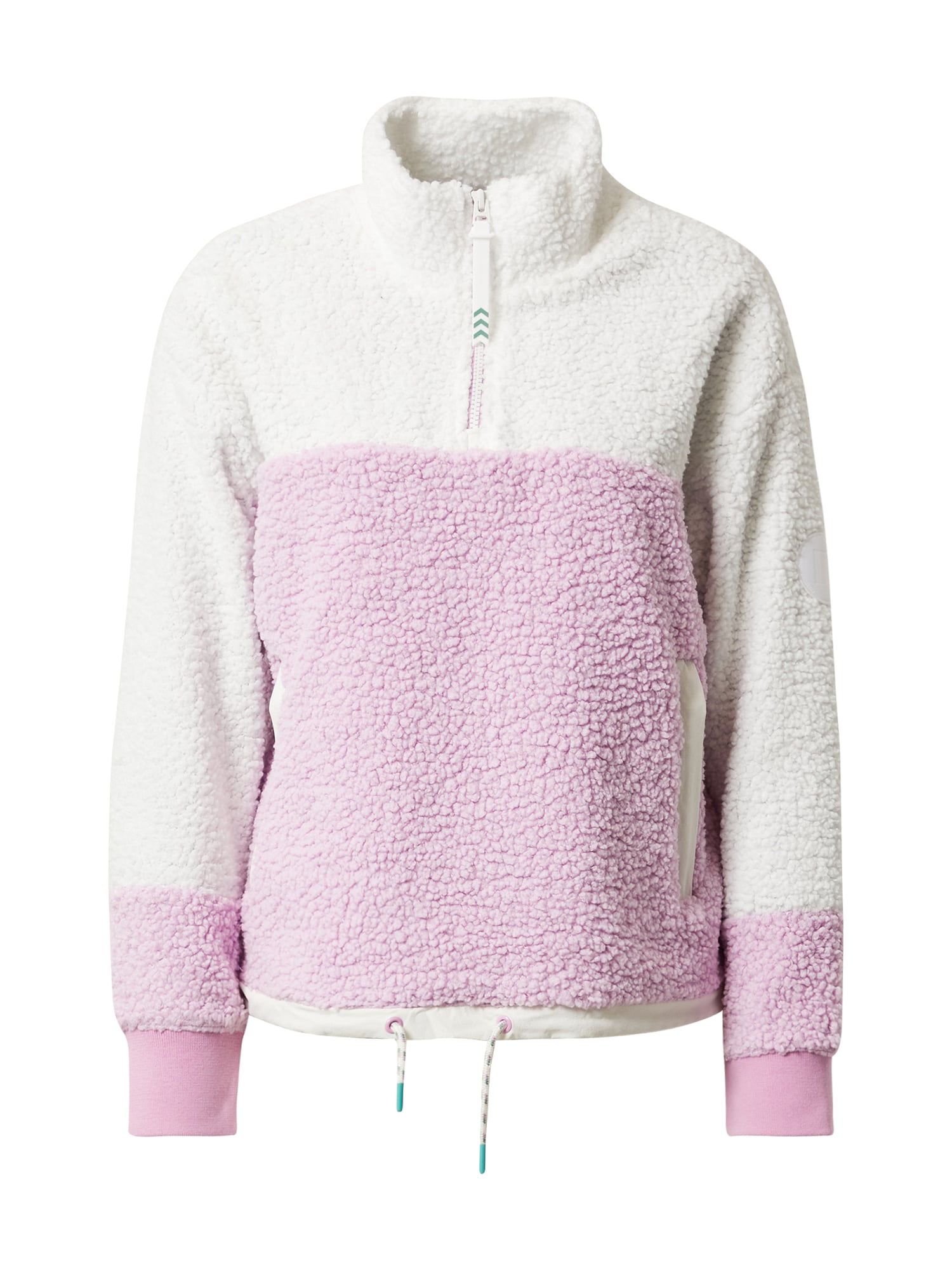 BURTON Sportinis megztinis rožinė / balta