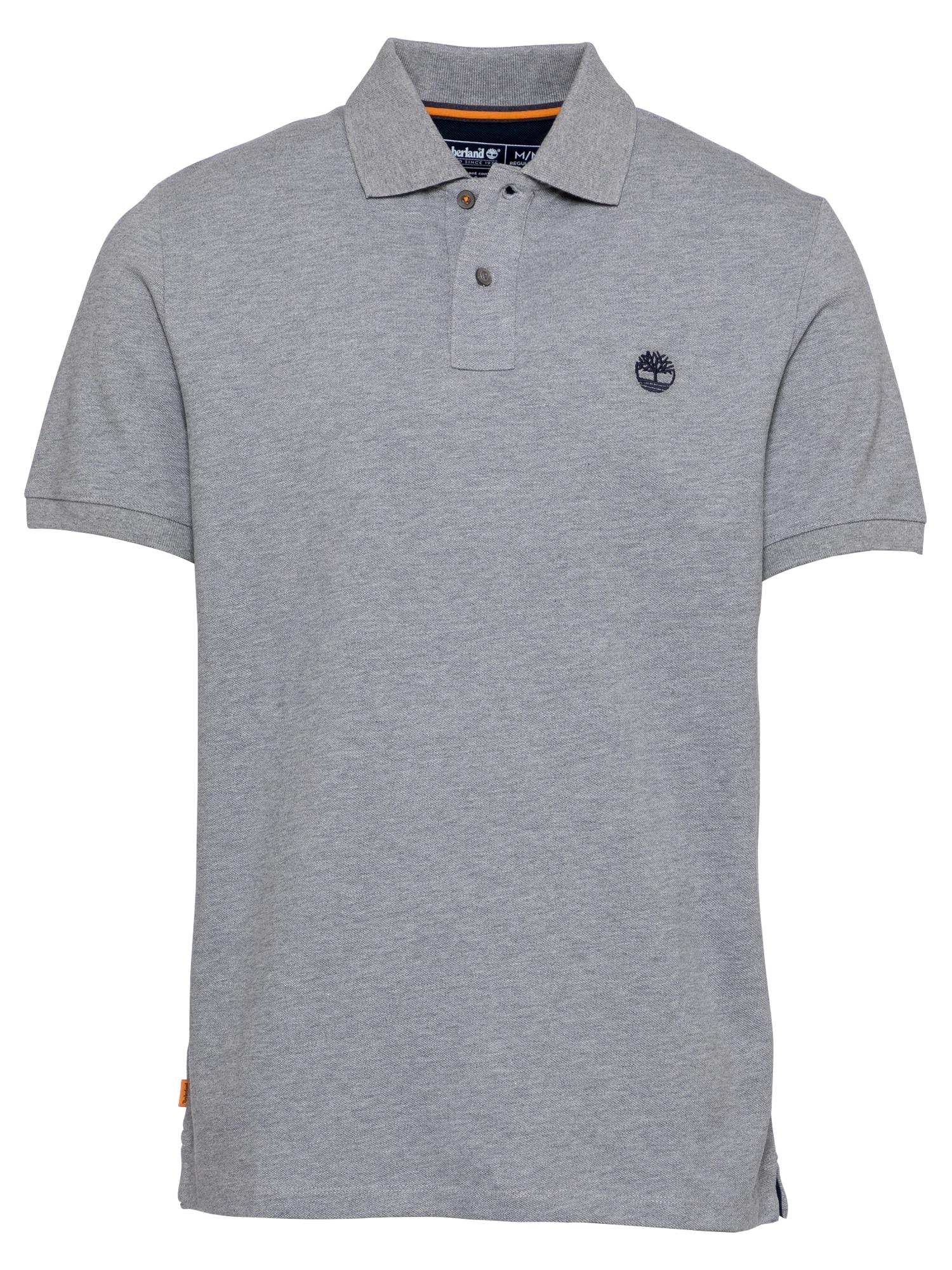 TIMBERLAND Marškinėliai margai pilka / juoda