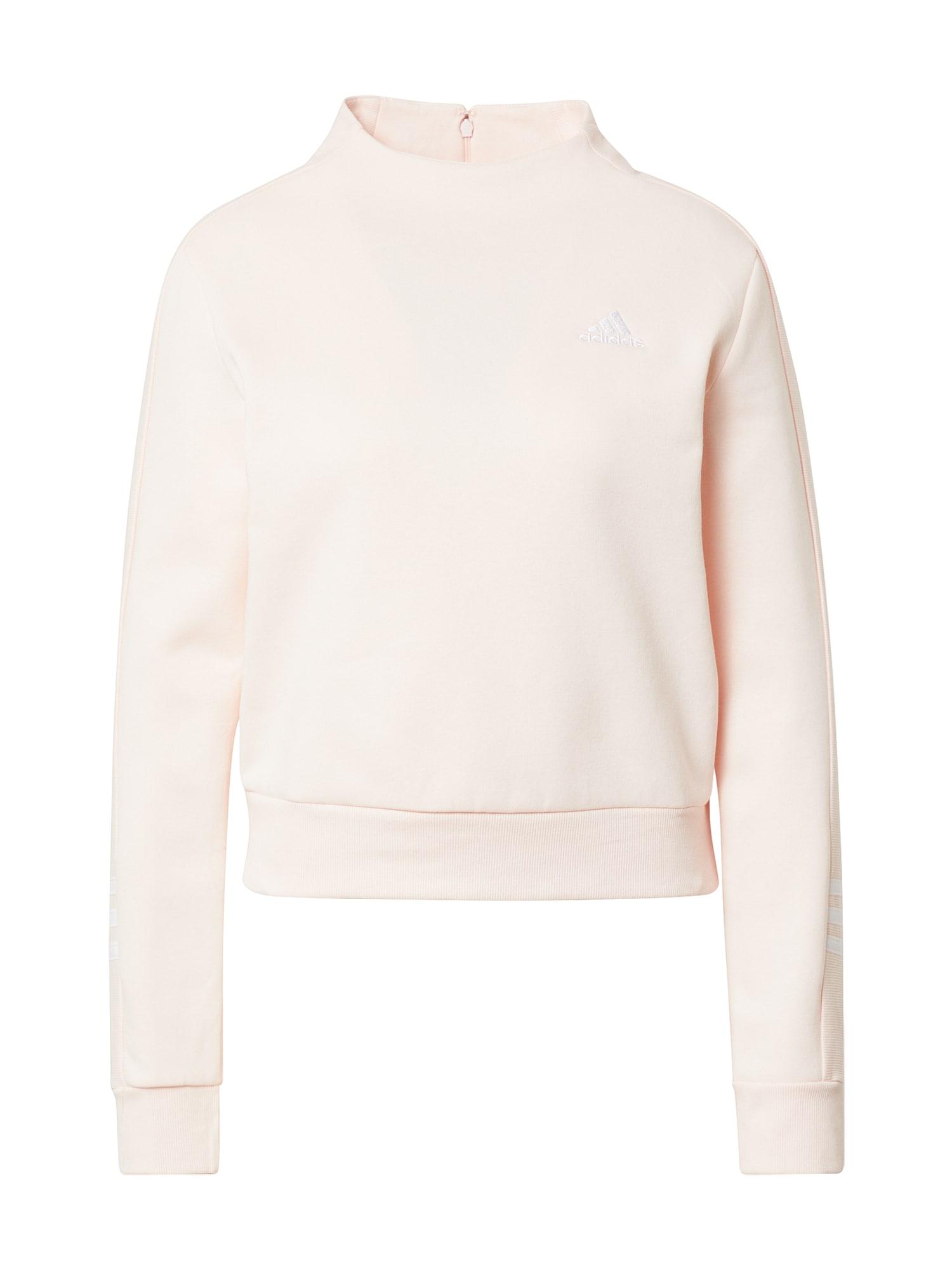 ADIDAS PERFORMANCE Sportinio tipo megztinis pastelinė rožinė