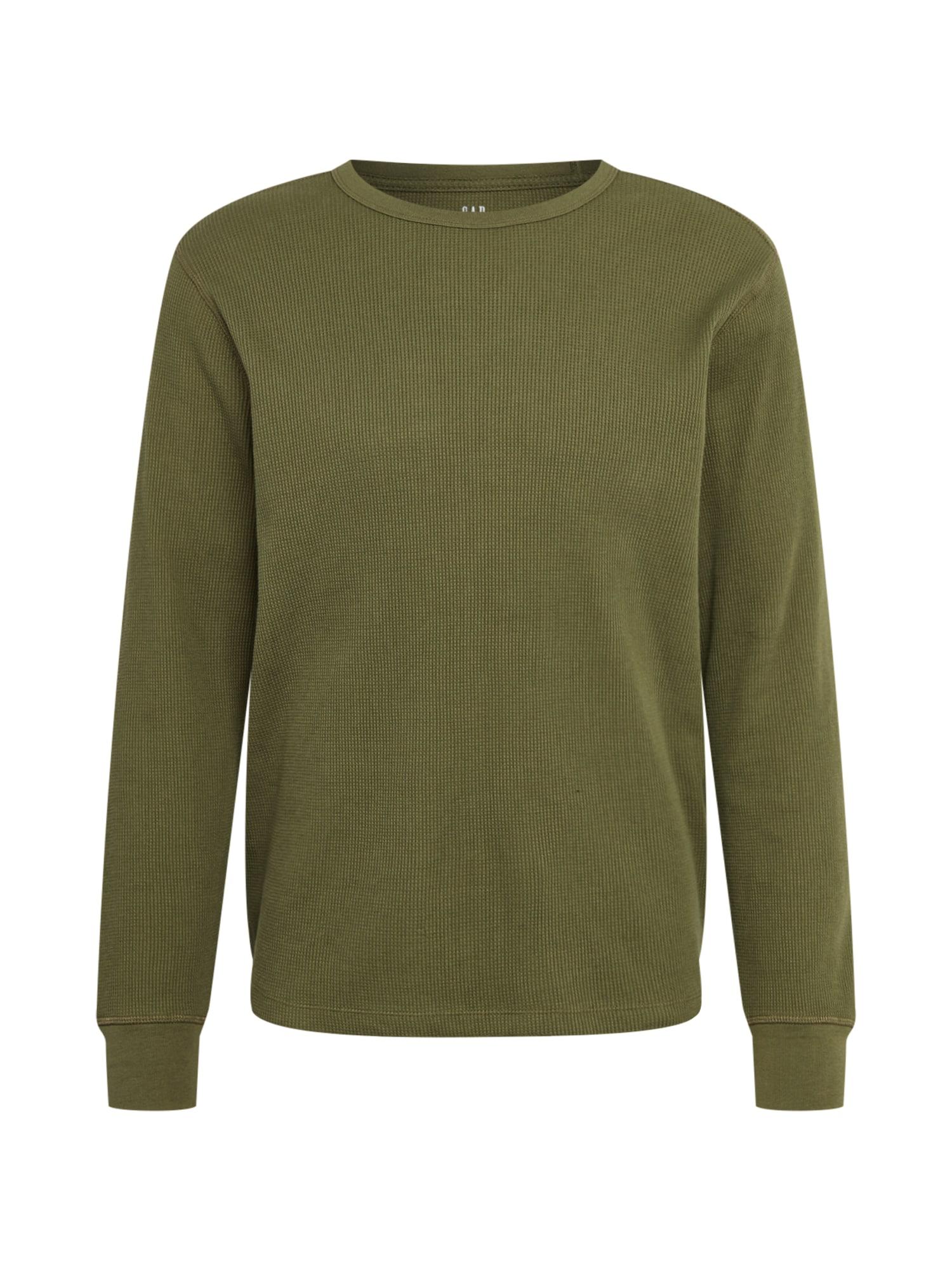 GAP Marškinėliai rusvai žalia