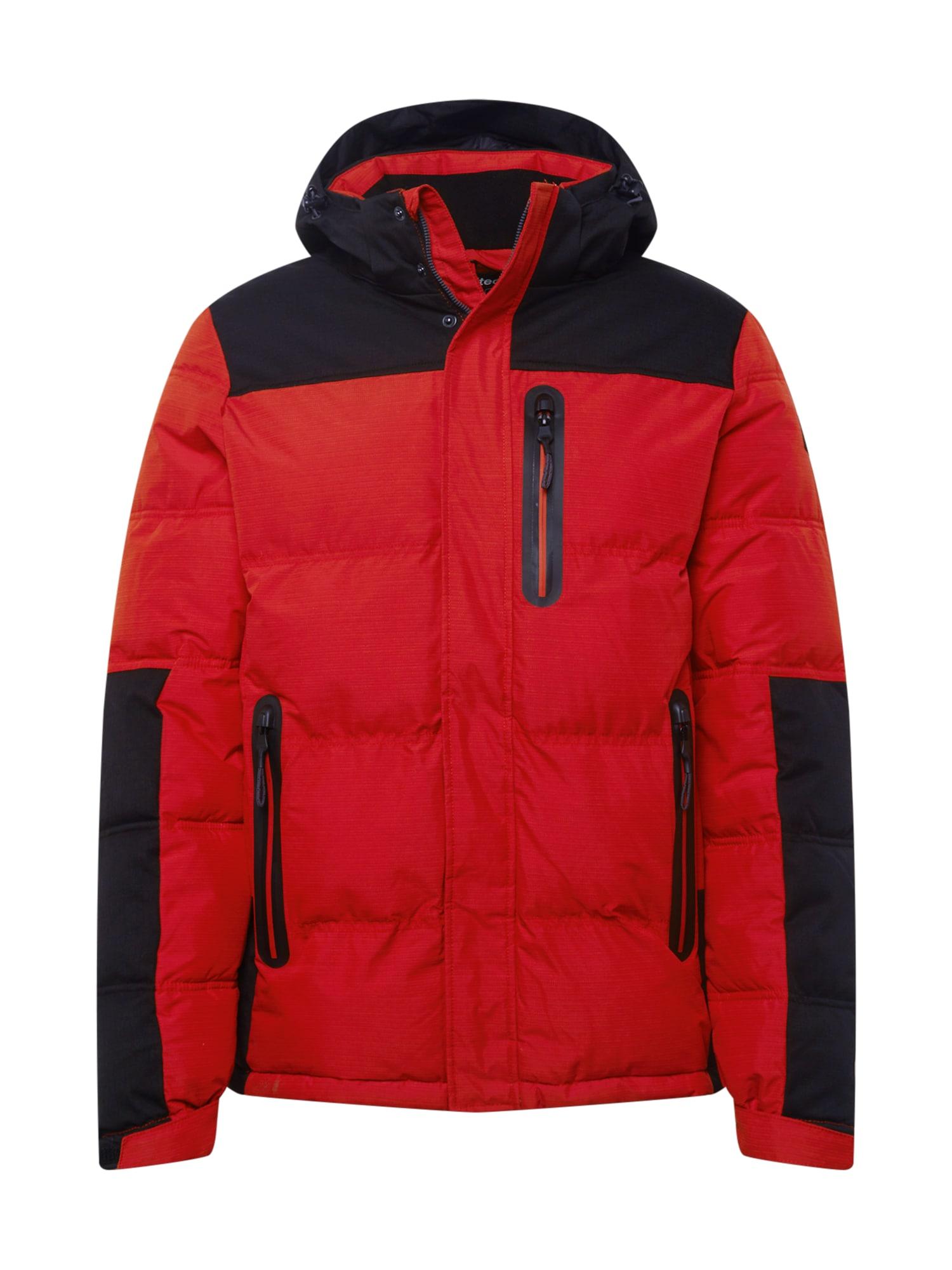 KILLTEC Sportovní bunda  červená / černá