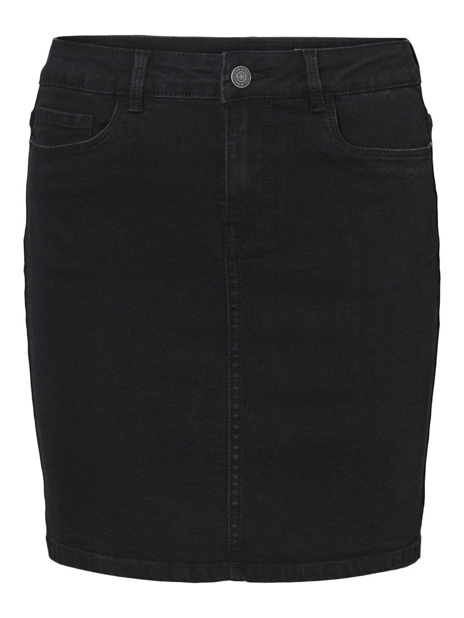 Vero Moda Petite Sijonas juoda