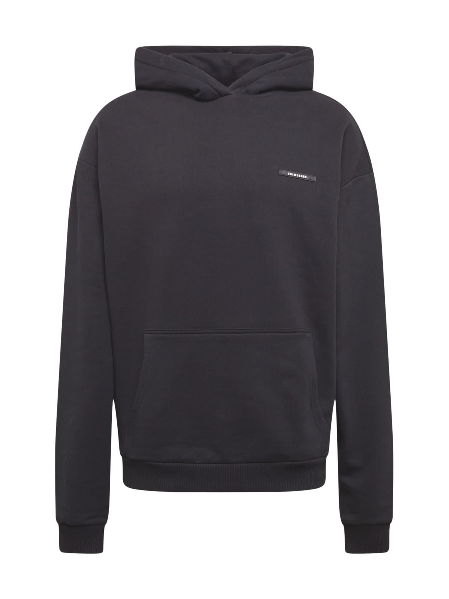 9N1M SENSE Megztinis be užsegimo juoda / balta / purpurinė / vandens spalva / rožinė