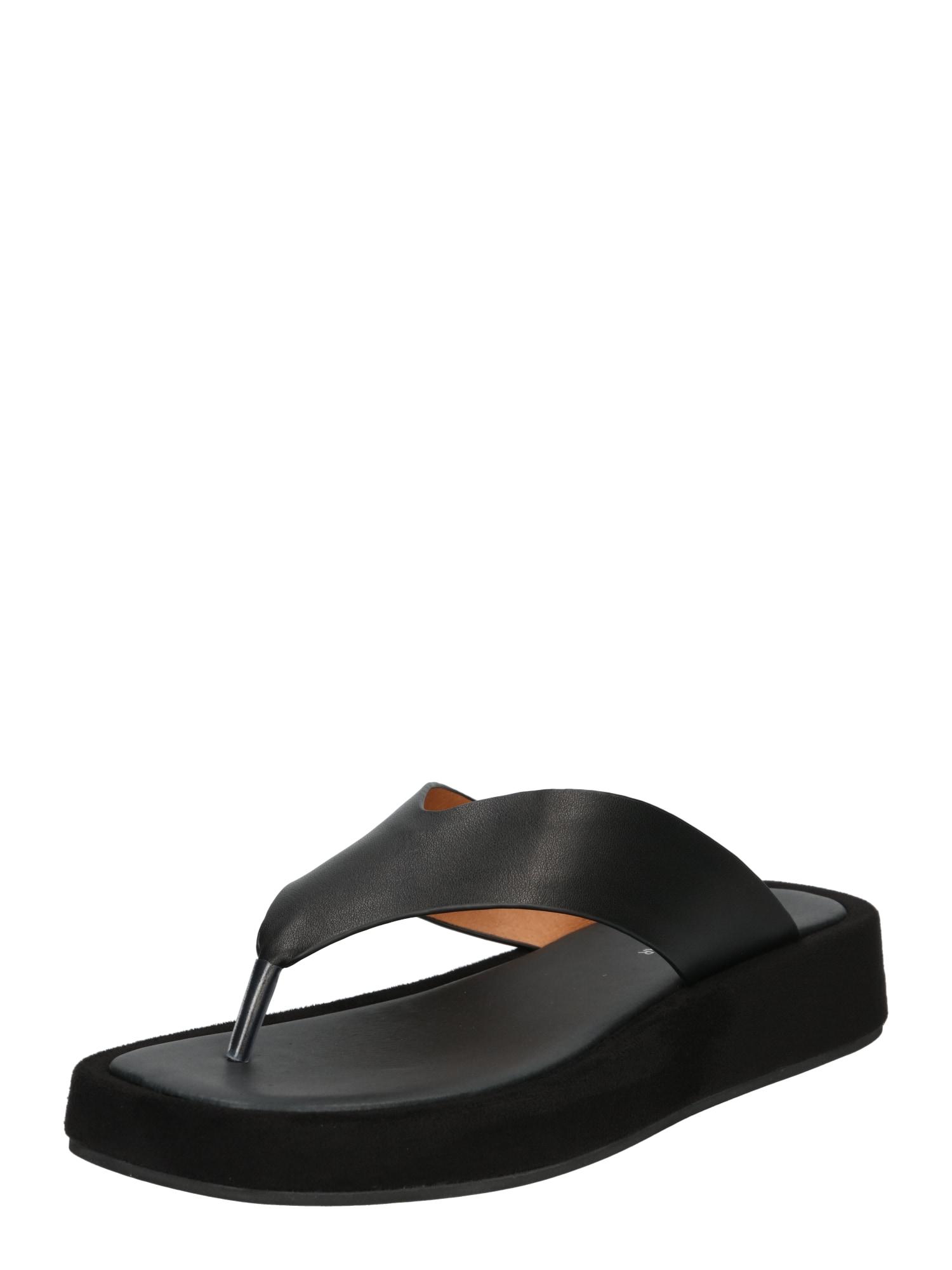 Shoe The Bear Žabky 'Astrid'  černá