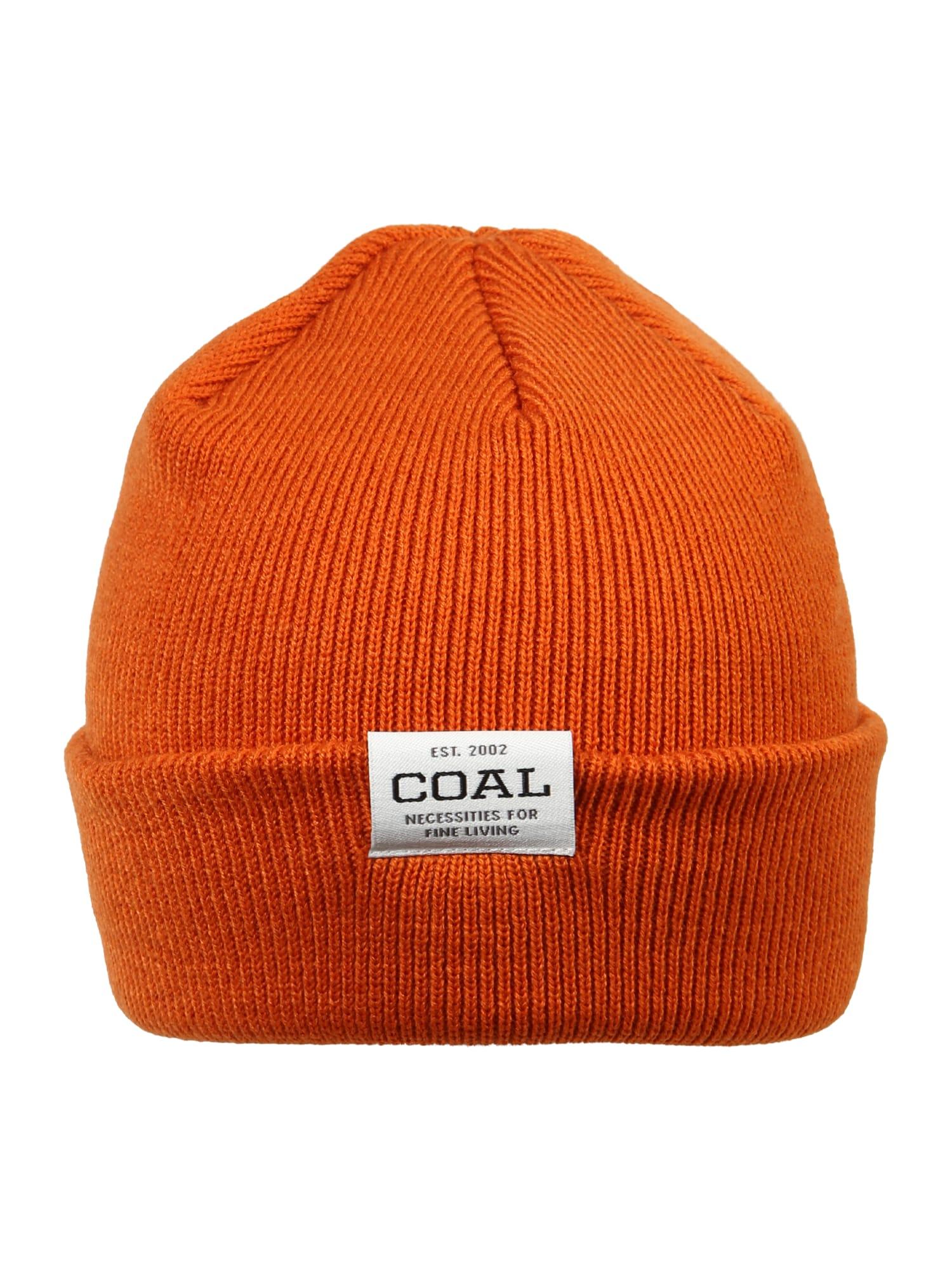 Coal Čepice  tmavě oranžová