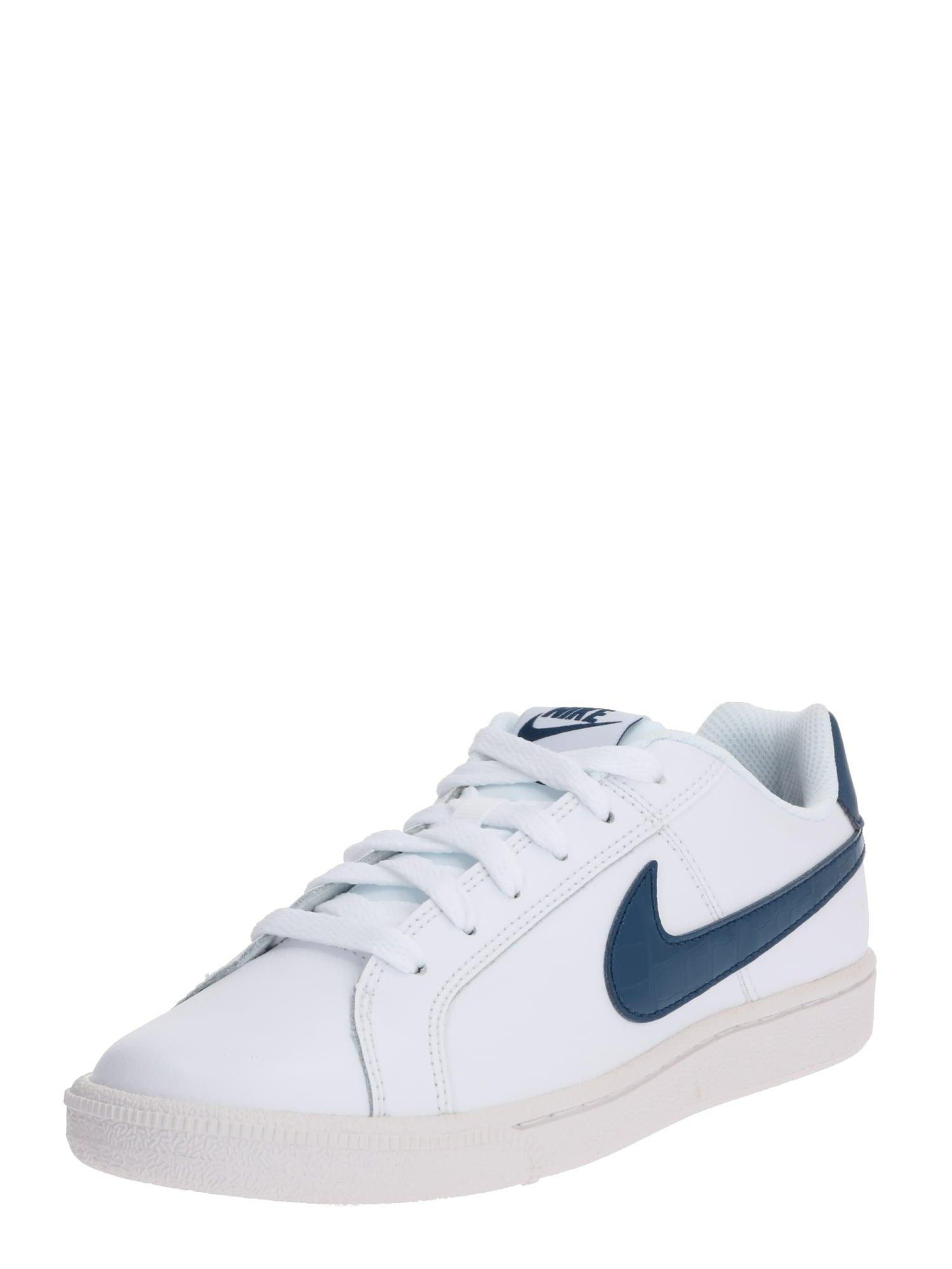 Nike Sportswear Sportbačiai be auliuko 'Court Royale' balta / tamsiai mėlyna
