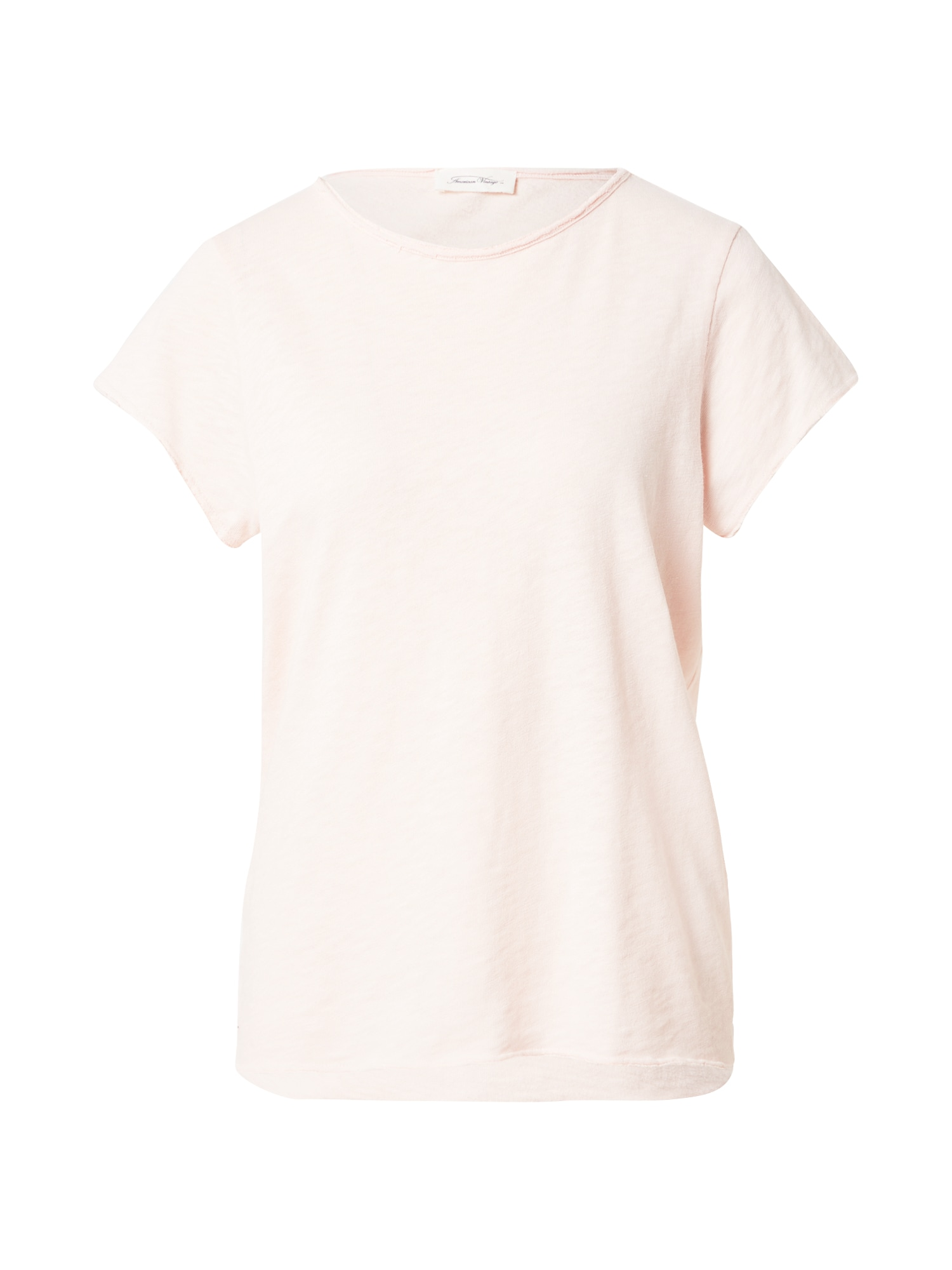 AMERICAN VINTAGE Marškinėliai pudros spalva